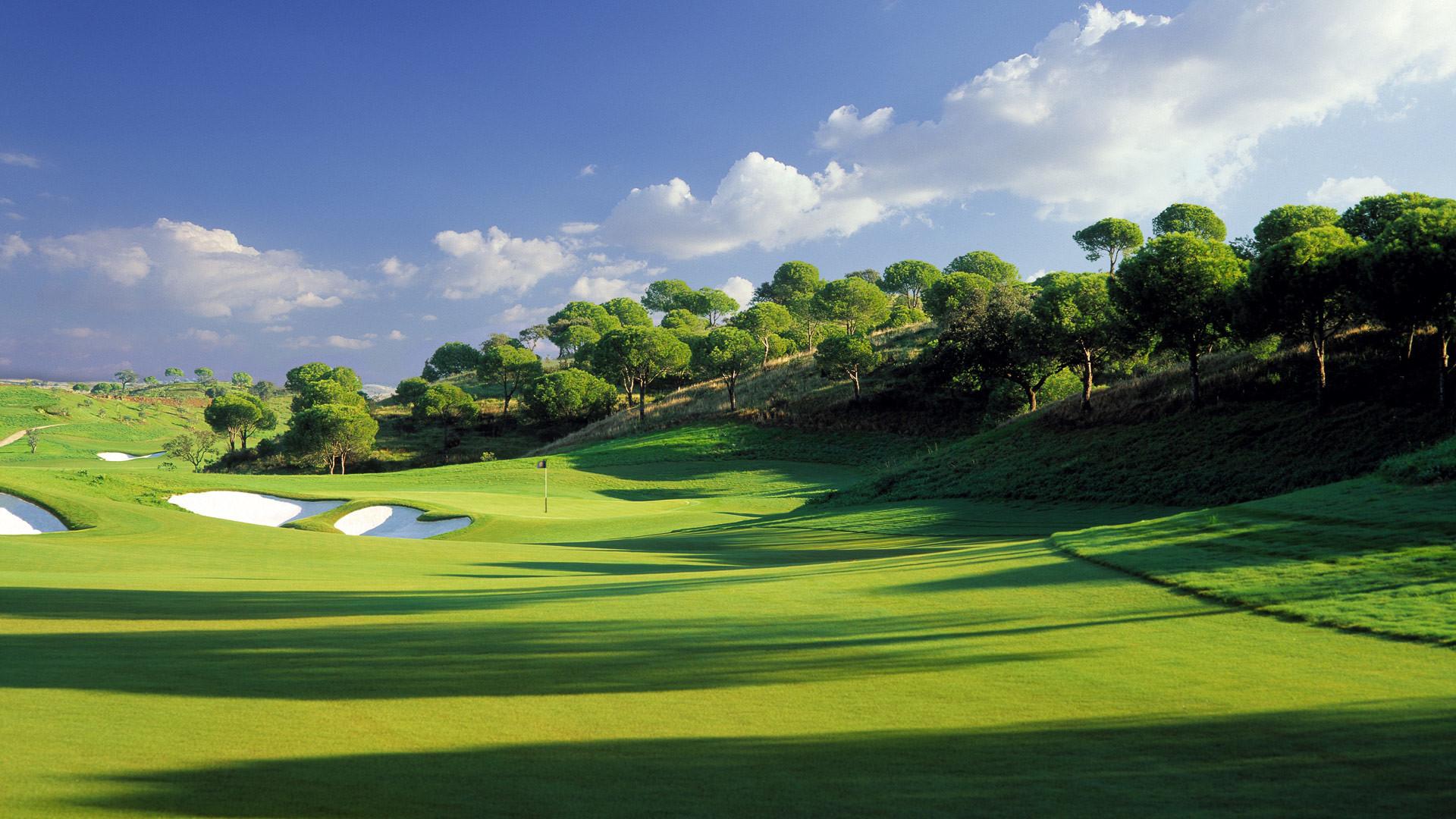 Golf Fields – 1080p HD Wallpaper for Desktop