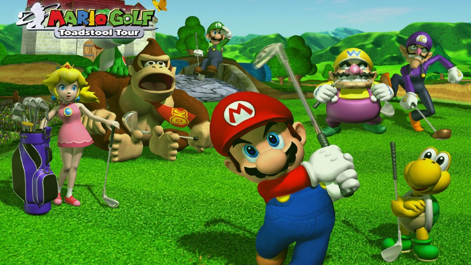 mario golf toadstool tour for desktop hd