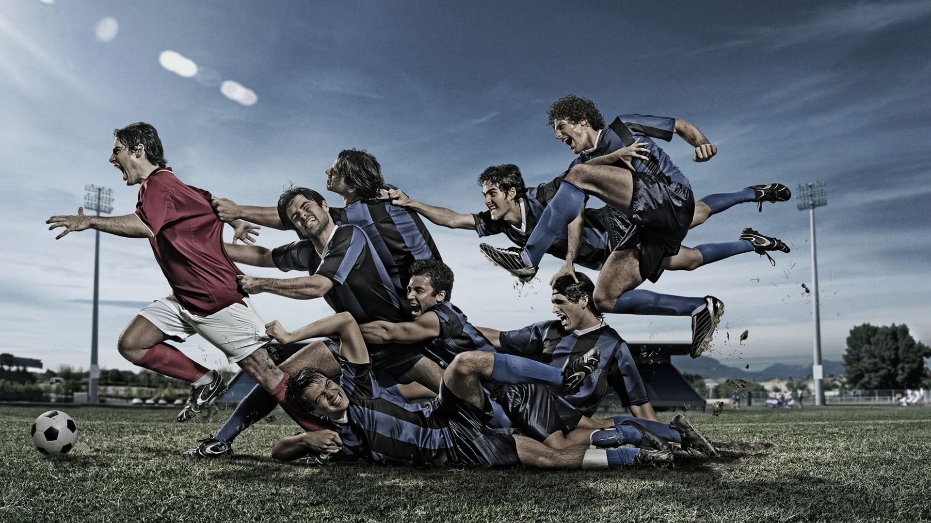 football team hd wallpaper