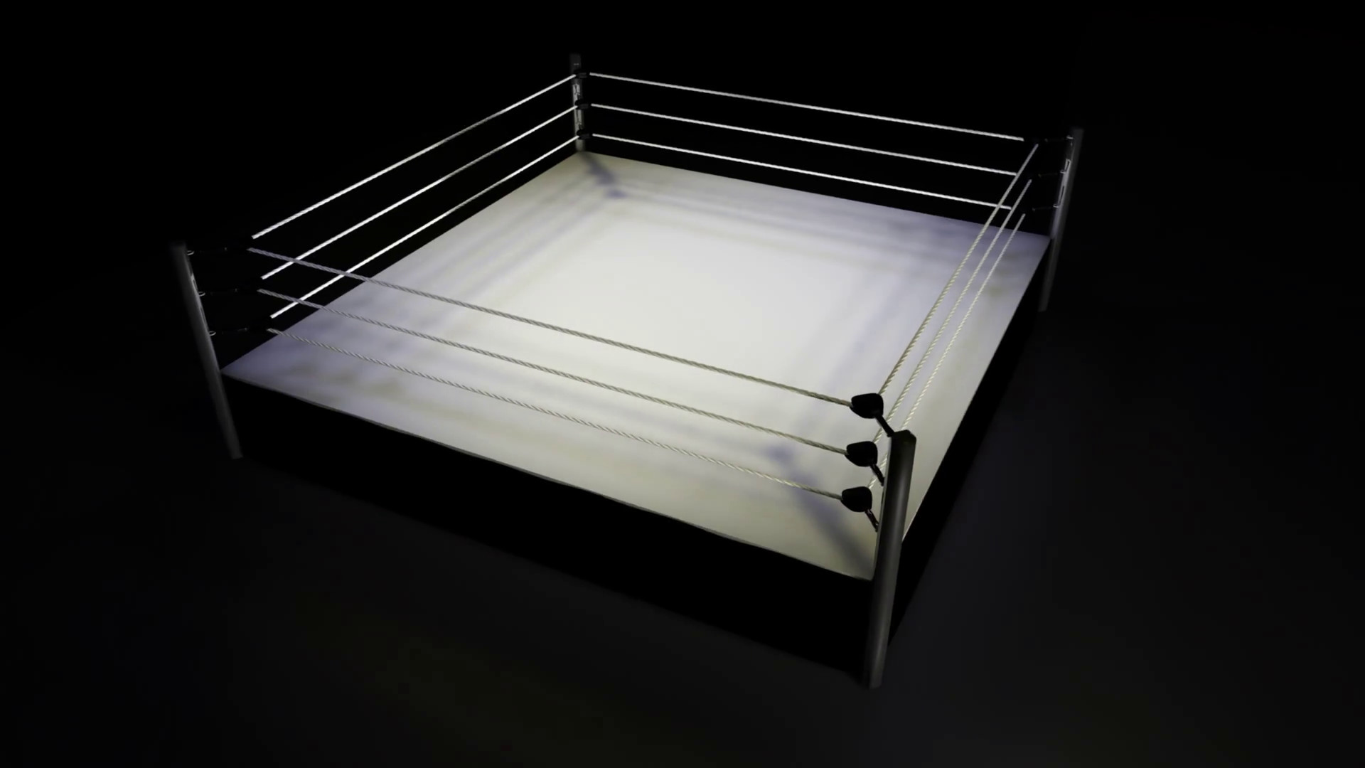 Rotating Boxing / Wrestling Ring on Black Background Motion Background –  VideoBlocks
