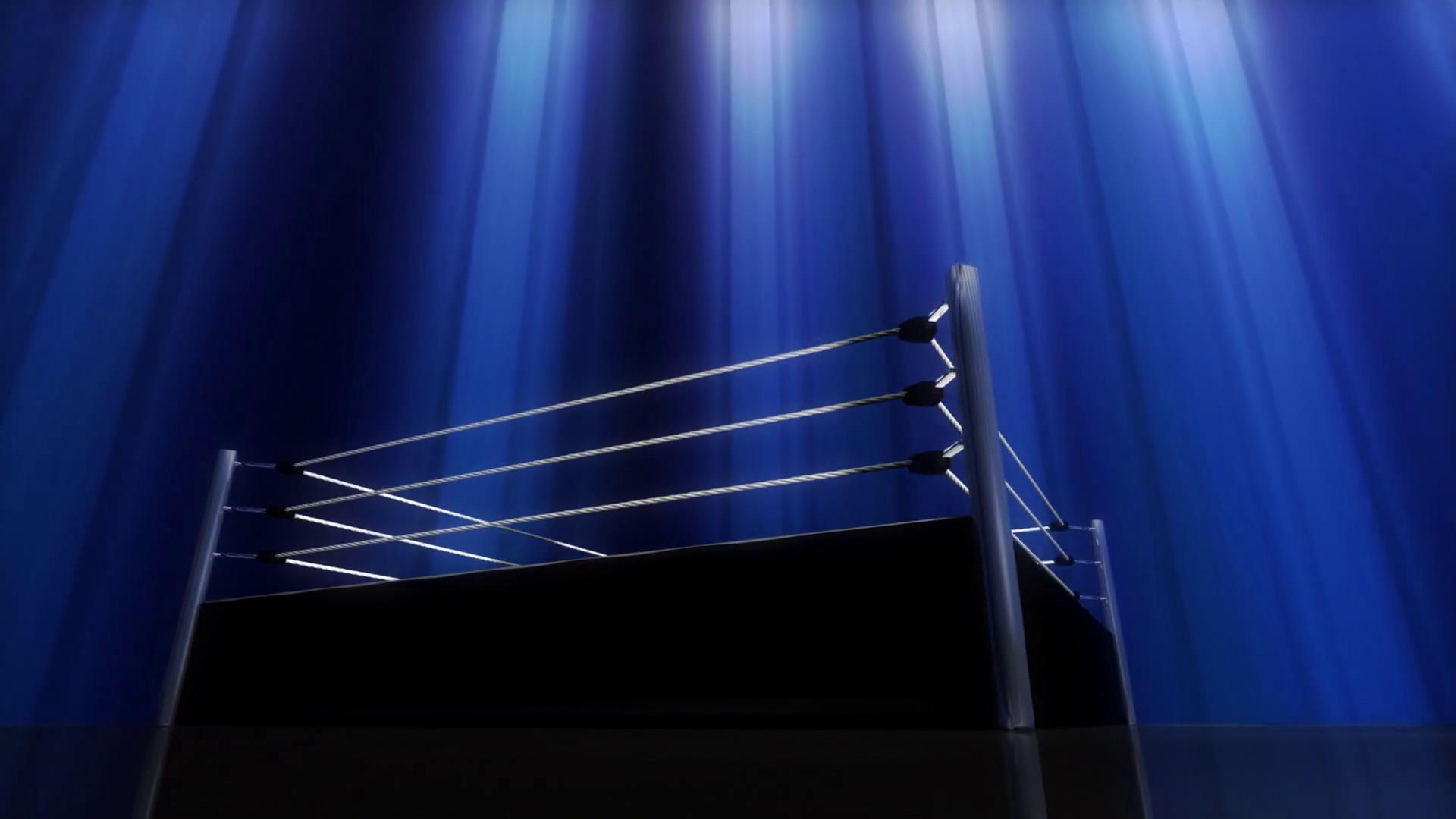 Blue Light Wrestling Boxing Ring Rotating Background Motion Background –  VideoBlocks