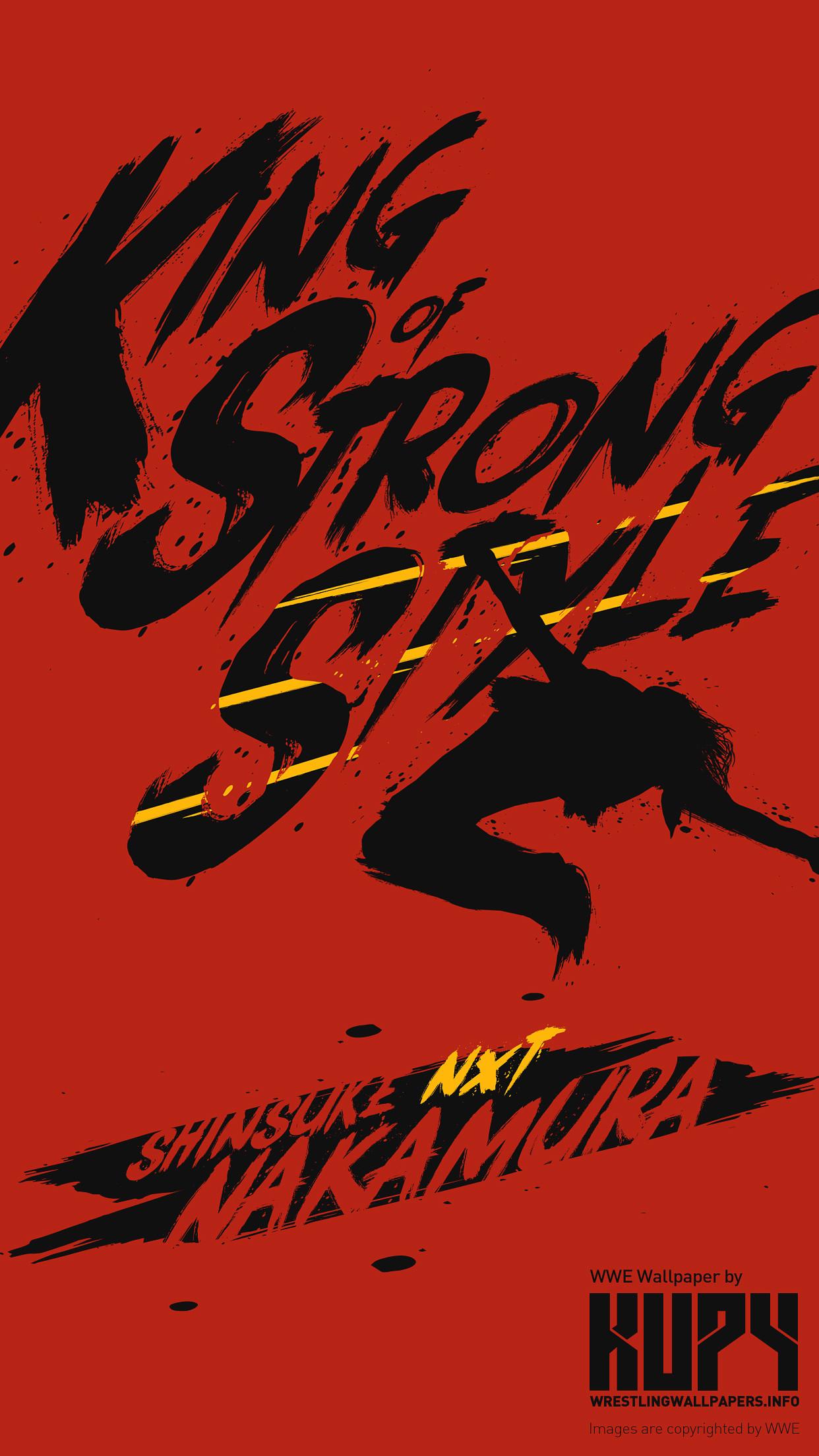 King of Strong Style: Shinsuke Nakamura wallpaper wallpaper