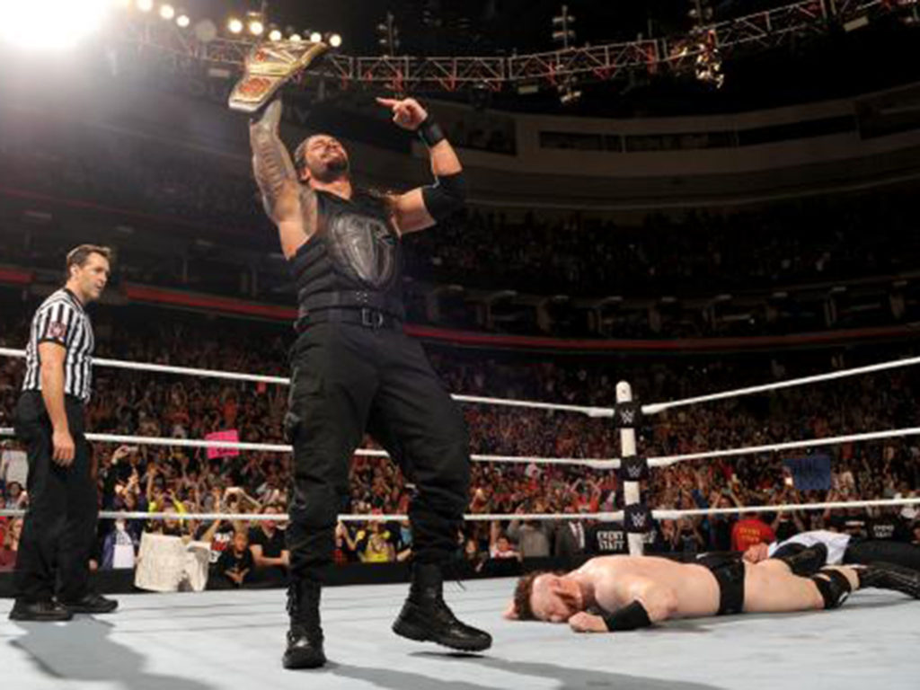 WWE Raw results: Roman Reigns wins WWE title from Sheamus a day after TLC  loss despite Vince McMahon return   The Independent