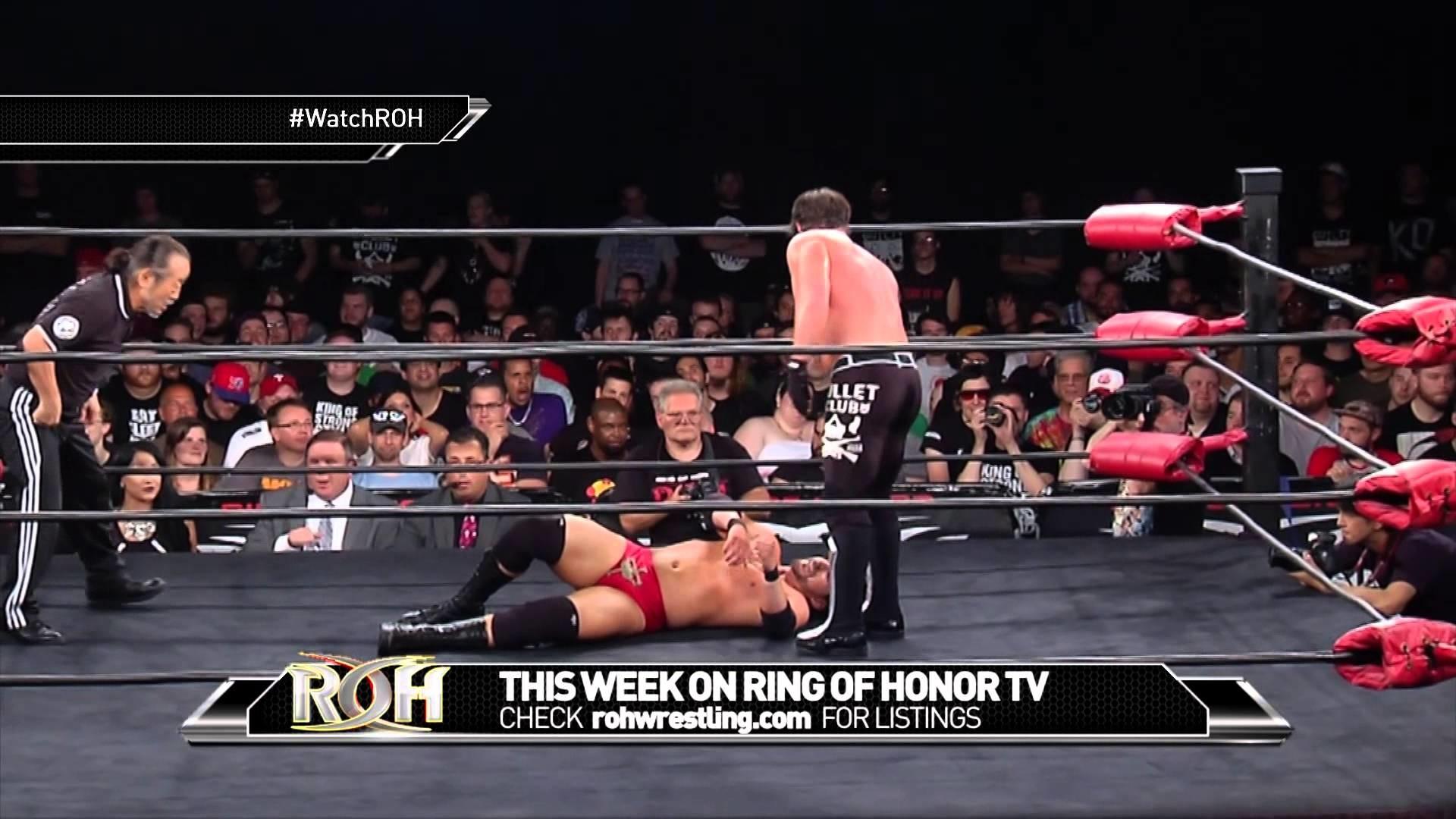 Ring of Honor Sneak Peek – AJ STYLES vs ADAM COLE – ROH TV Ep 197 – YouTube