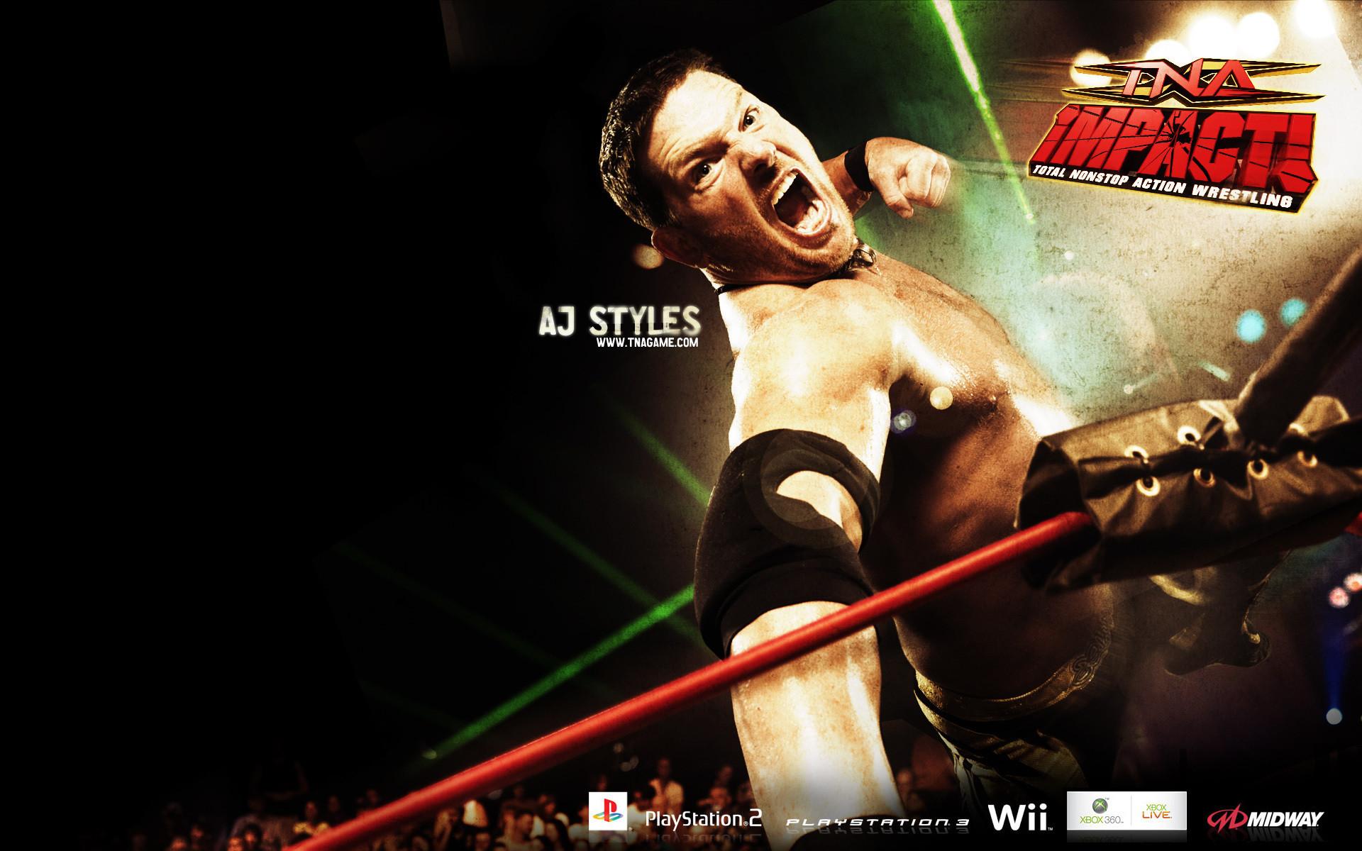 aj styles – TNA Wrestling Wallpaper (11396957) – Fanpop