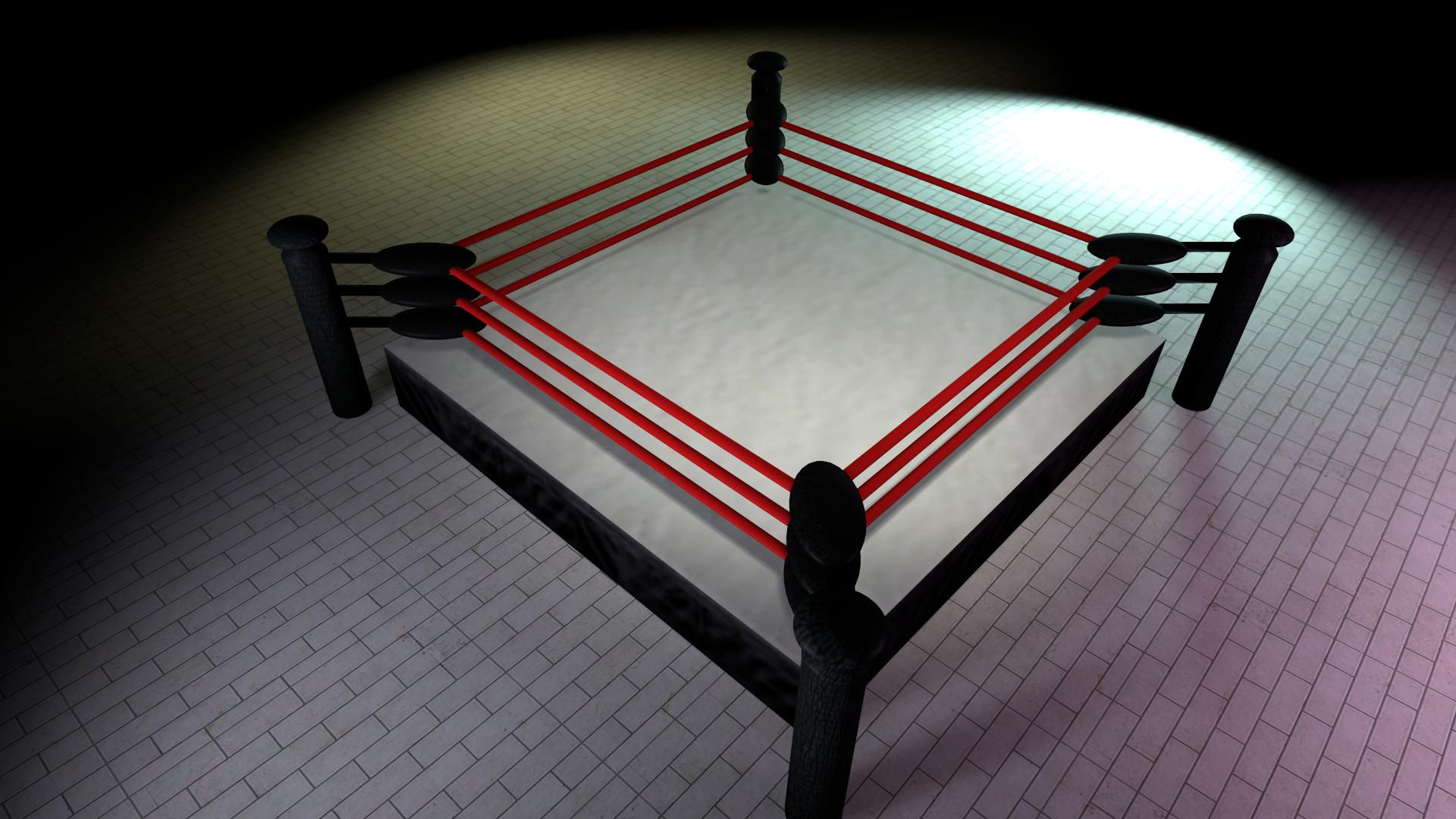 … Wrestling Ring Prop (SFM Release) by Vitezislav