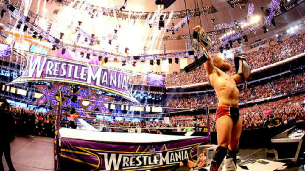 In today's #ThrowbackThursday, we head back to WrestleMania 30, where  Daniel Bryan overcame