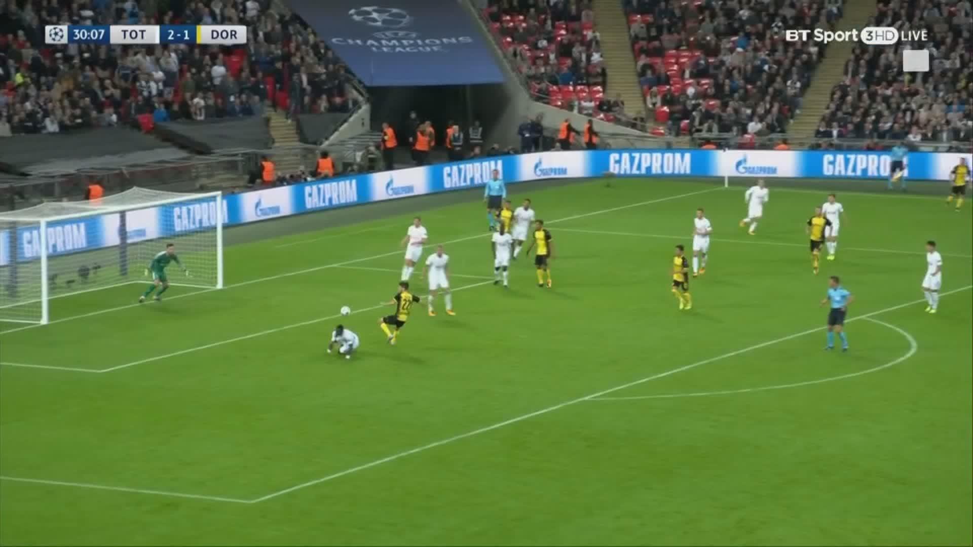 Tottenham Hotspur news: Fans loved Aurier's dummy against Borussia Dortmund    talkSPORT