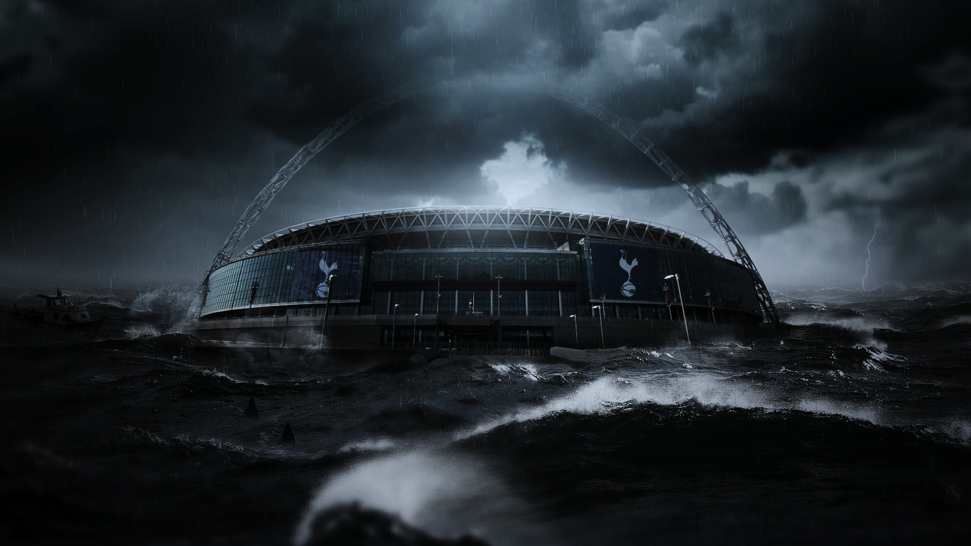 Tottenham Hotspur Wembley Poster