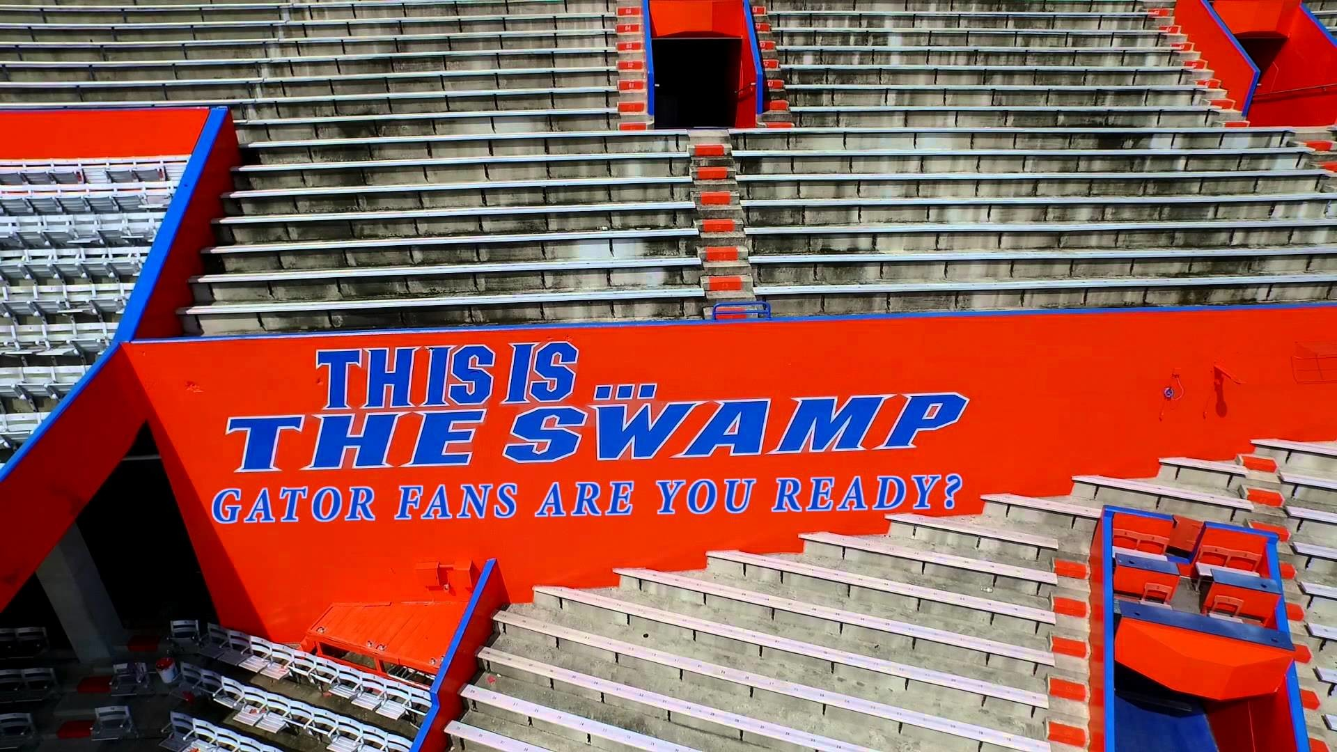 This Is The Swamp – University of Florida Gator Football Time