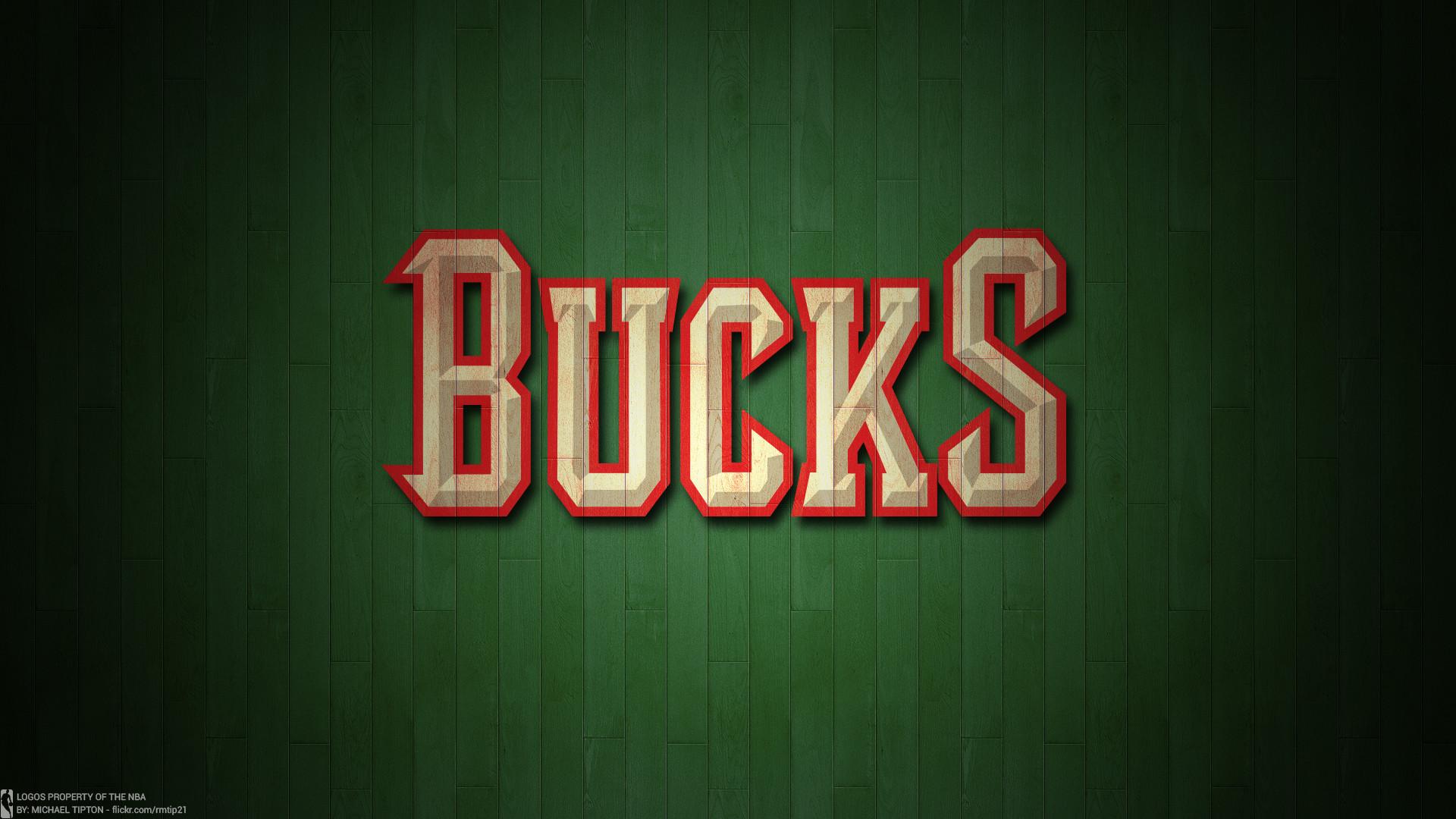 … NBA 2017 Milwaukee Bucks hardwood logo desktop wallpaper
