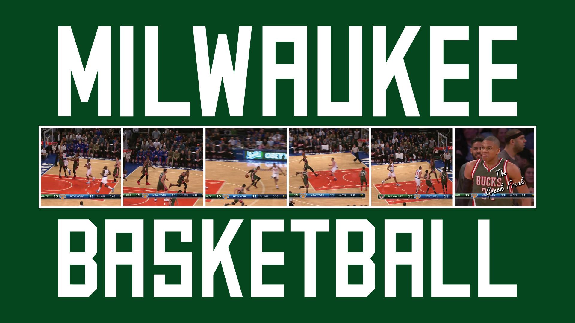 Milwaukee Bucks Basketball [wallpaper]
