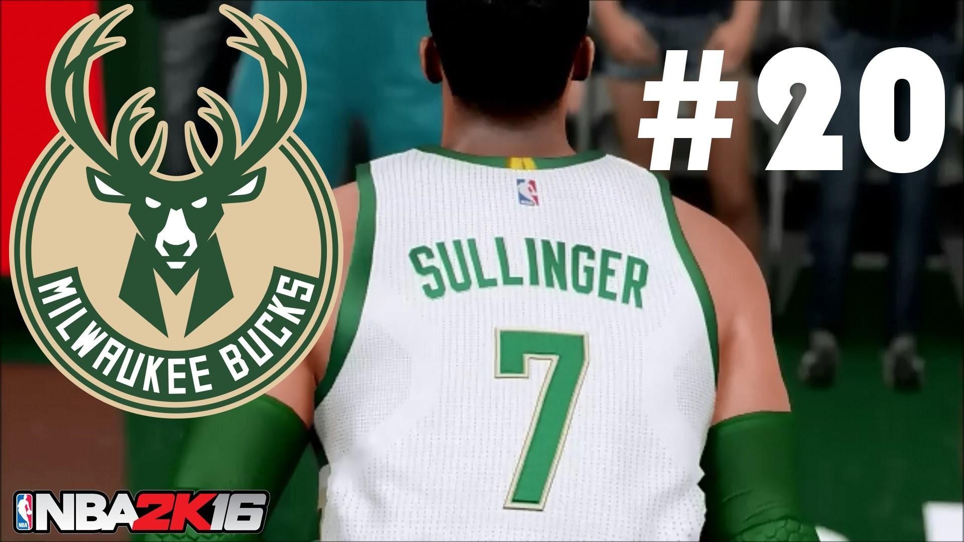 NBA 2K16 Milwaukee Bucks MyLeague | TRADE DEADLINE SPECIAL! 20TH EPISODE!!  | Episode 20 – YouTube