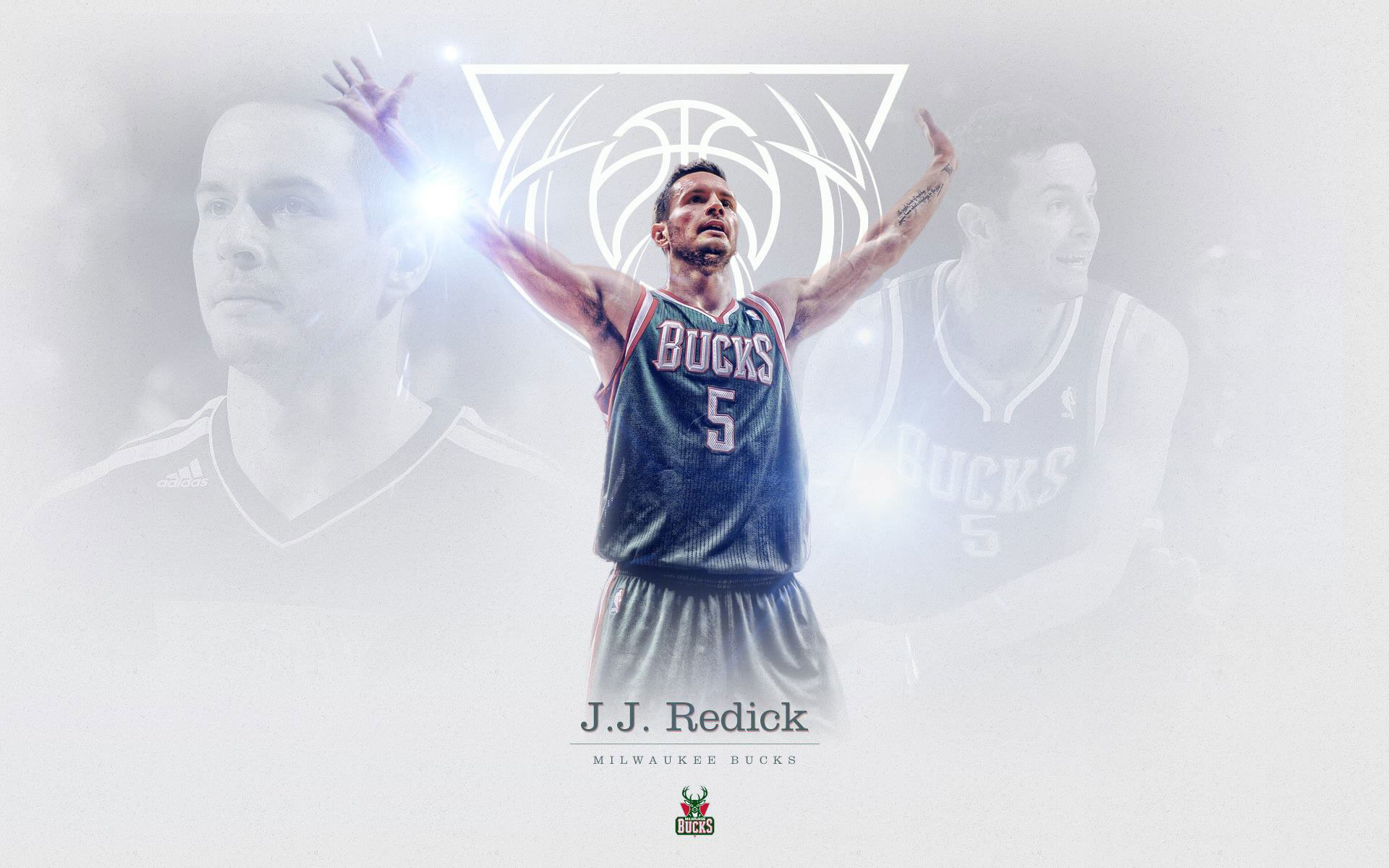 J. J. Redick Bucks Wallpaper