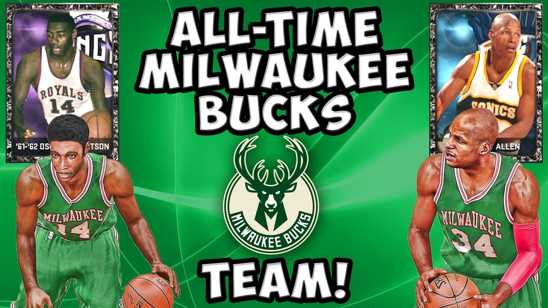 All-Time Milwaukee Bucks Team! NBA 2K15 MyTeam – Onyx Oscar Robertson & Ray  Allen – YouTube