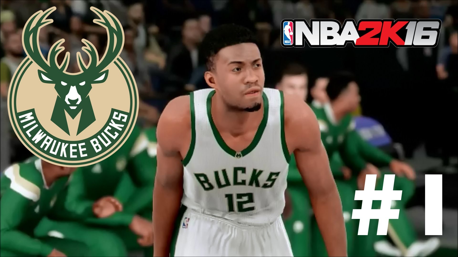 NBA 2K16 Milwaukee Bucks MyLeague | Feeling It Out! – Kristaps Porzingis  DEBUT! | Episode 1 – YouTube