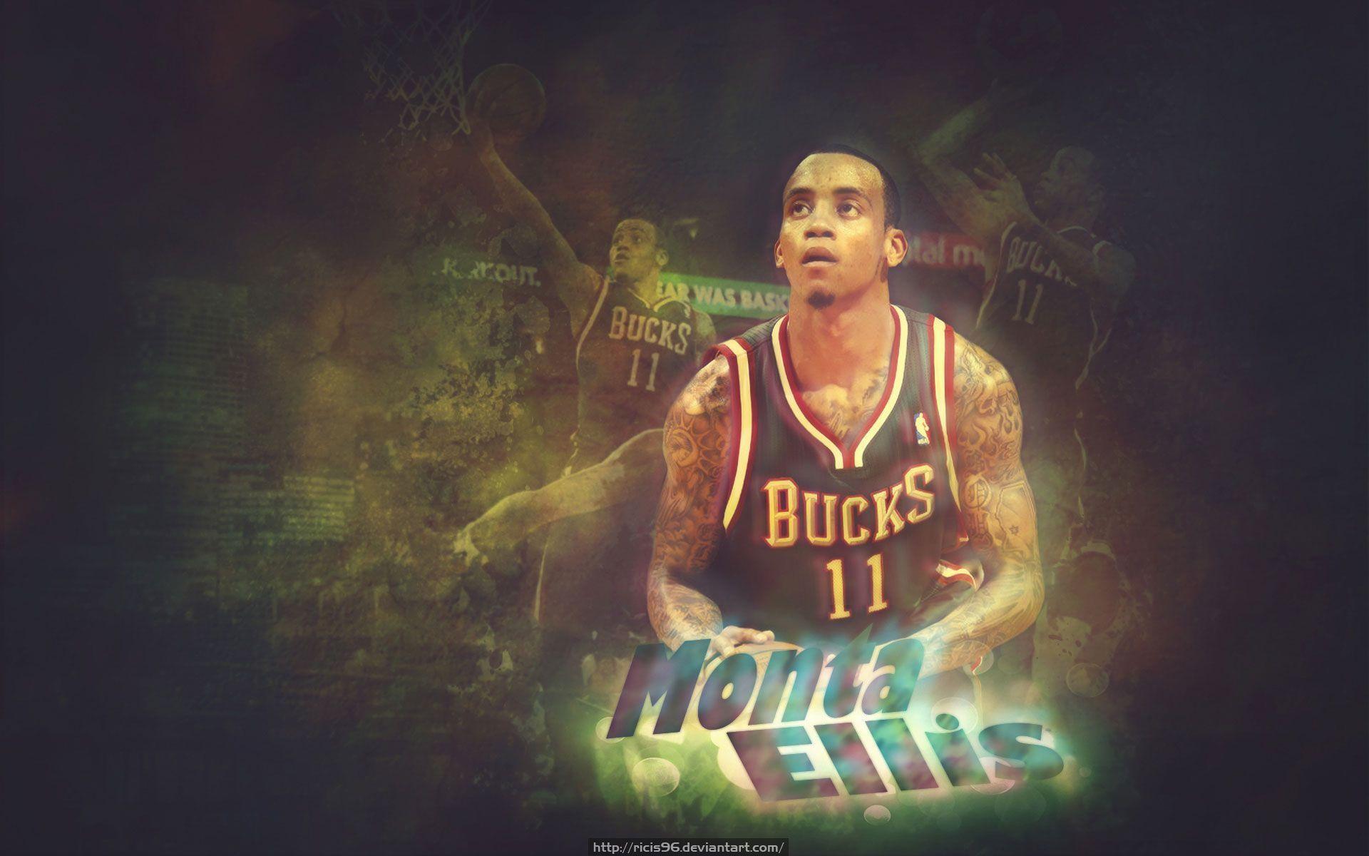 Monta Ellis Bucks Wallpaper – Basketball Wallpapers