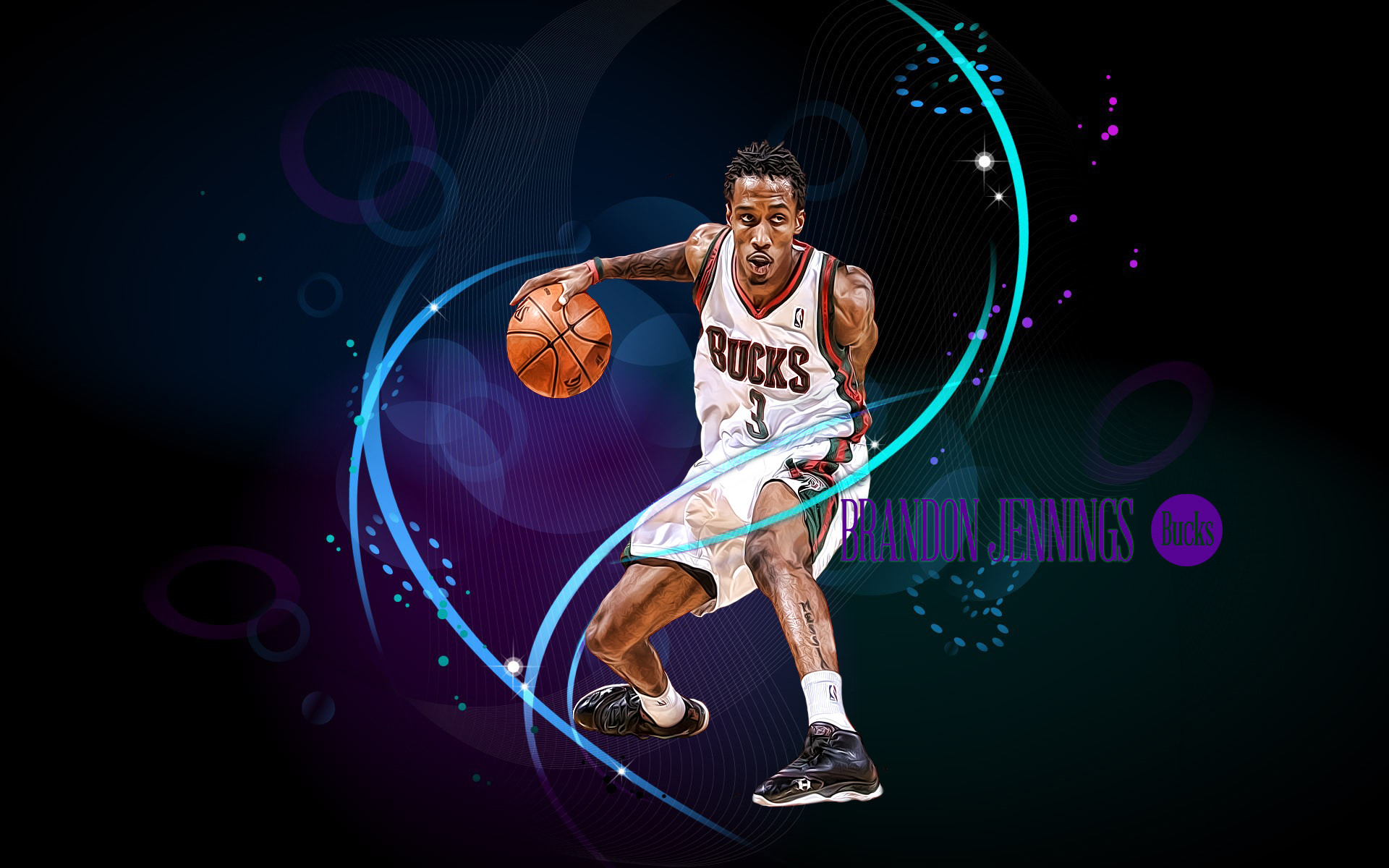 Milwaukee.Bucks.Wallpaper by 31ANDONLY