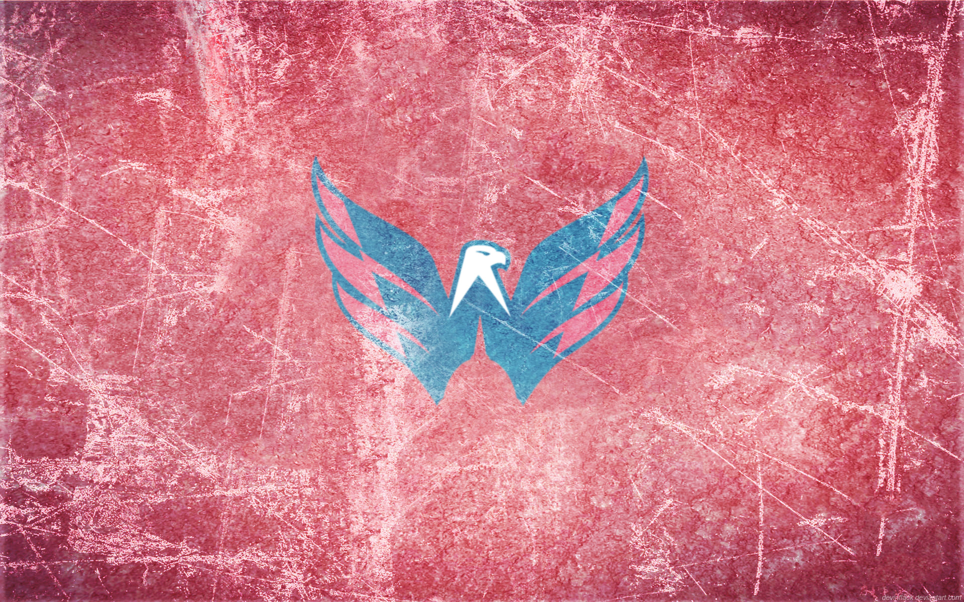Capitals Ice Wallpaper (by ~ DevinFlack )   1920 x 1200