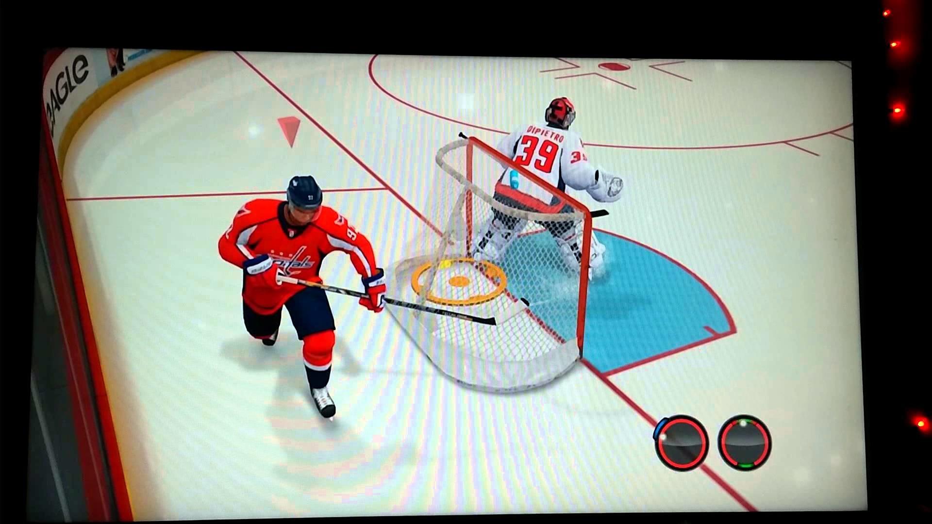 Evgeny Kuznetsov NHL 13 Trick Shot Washington Capitals