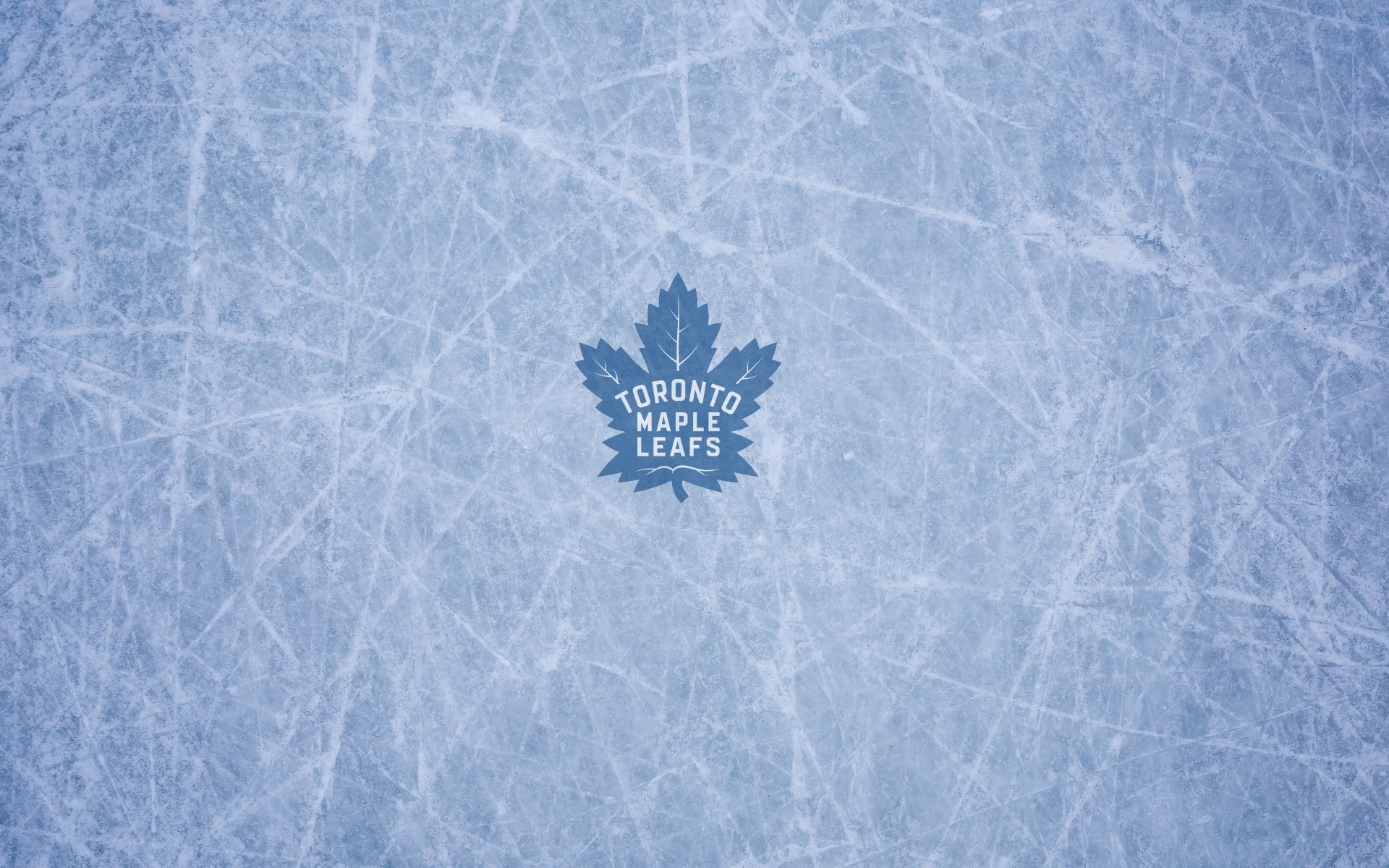 Toronto Maple Leafs wallpaper with ice and logo, 1920×1200