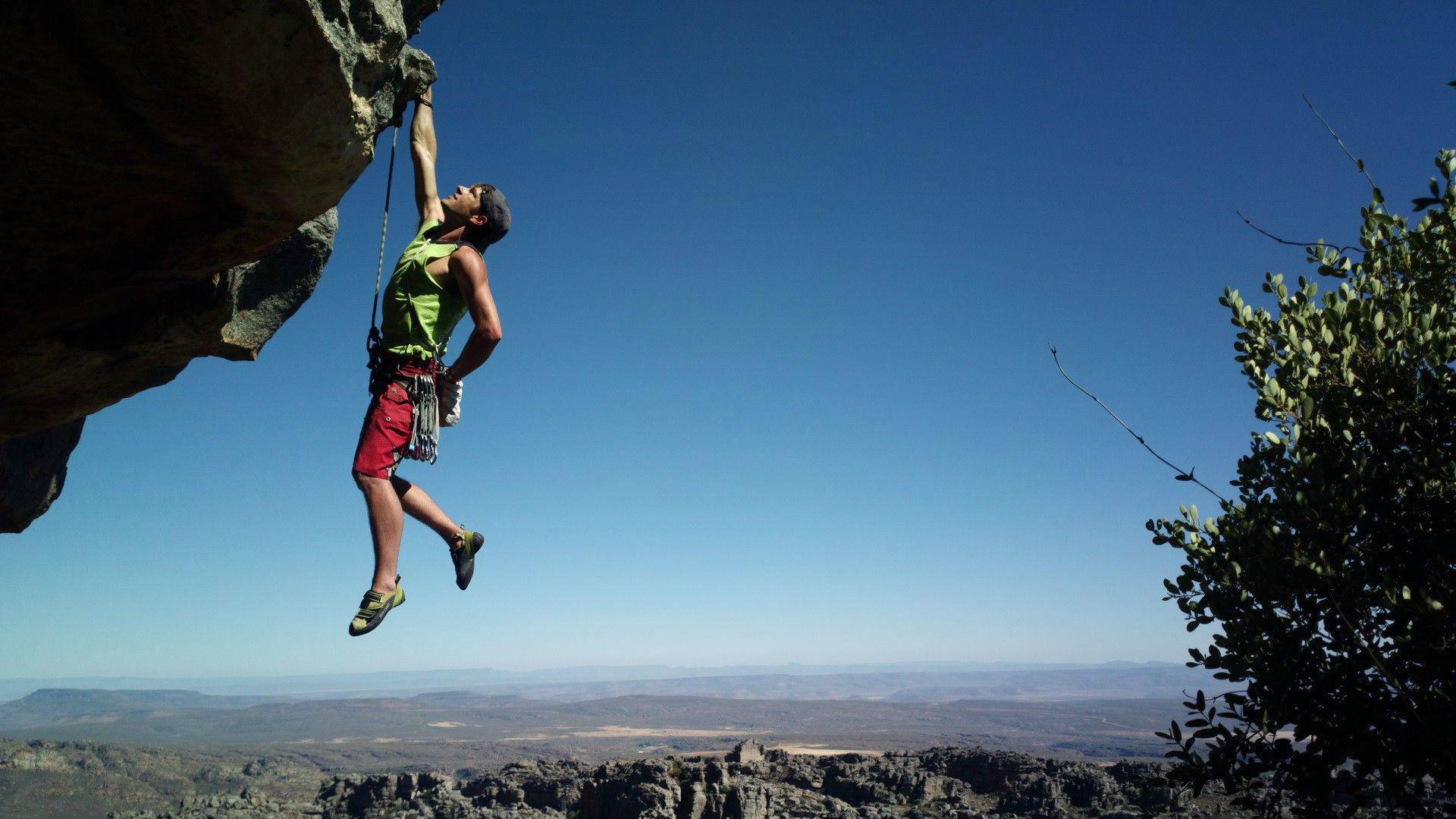 Rock climbing Adventure Sports Wallpaper