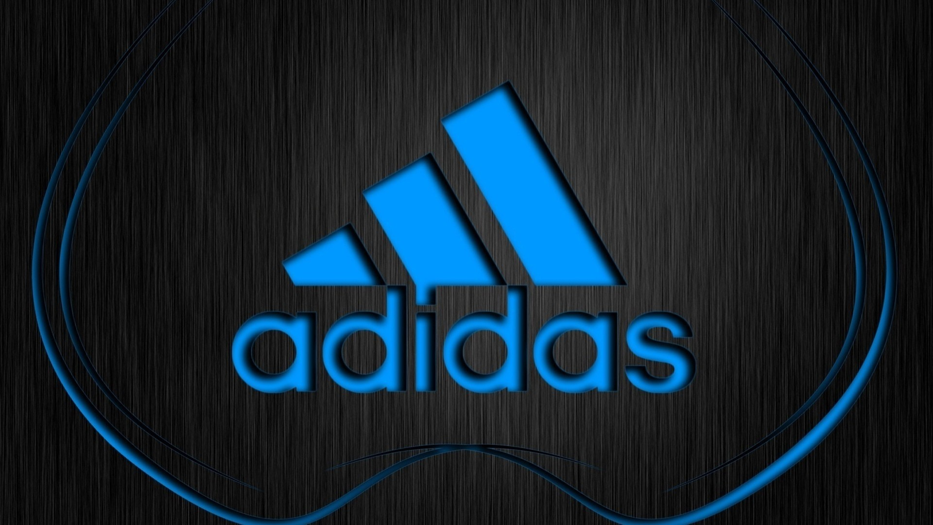Preview wallpaper adidas, logo, firm, sports, lettering 1920×1080