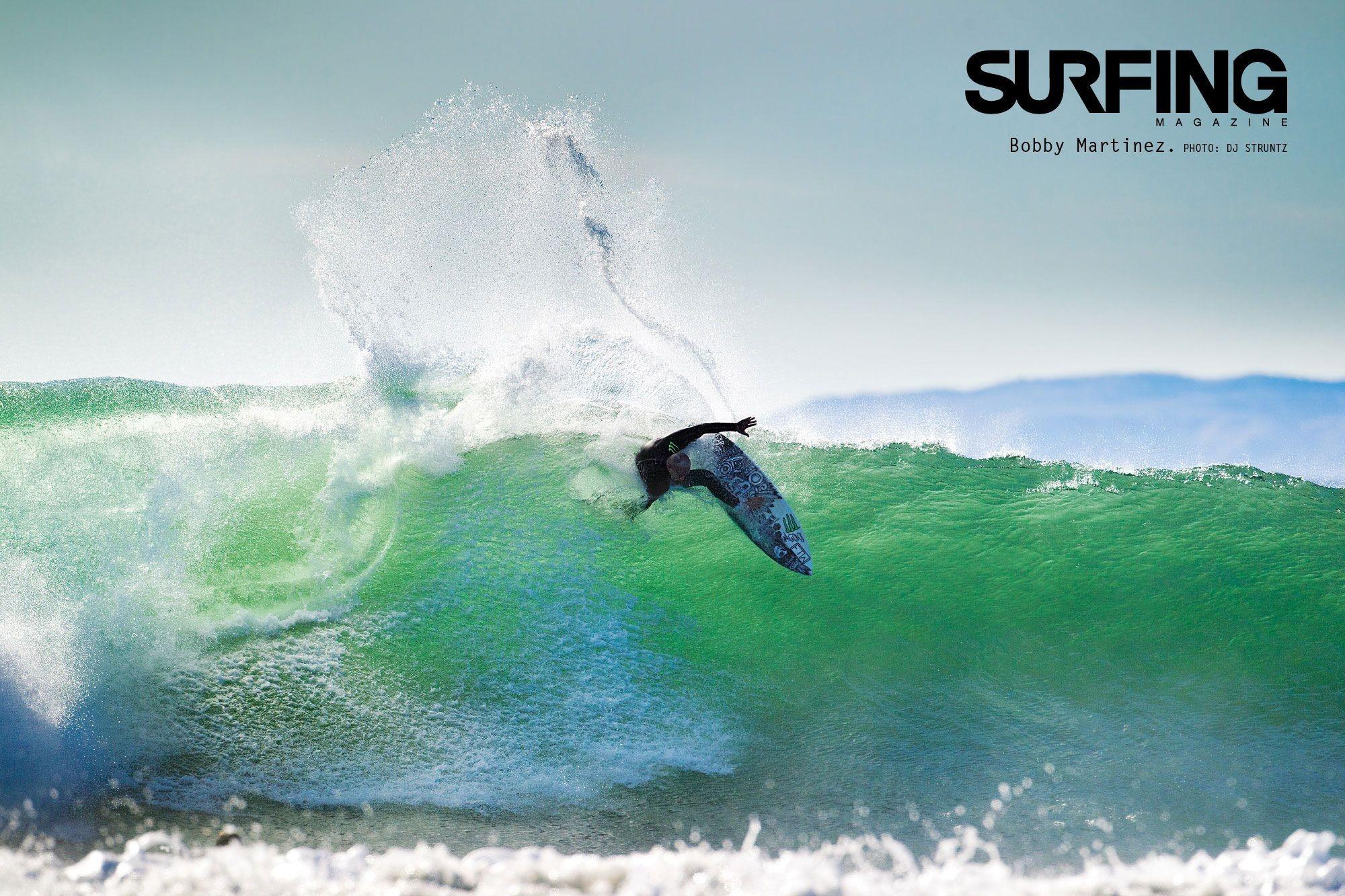 Surfer Desktop Wallpaper