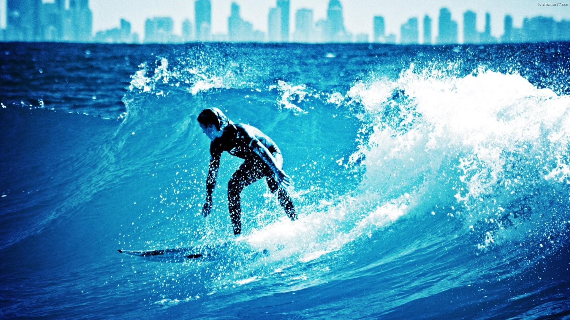 Free Download Surf Beach Background.