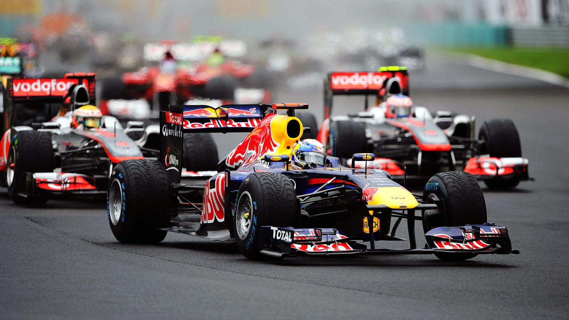 Sebastian Vettel, Red Bull RB7 …