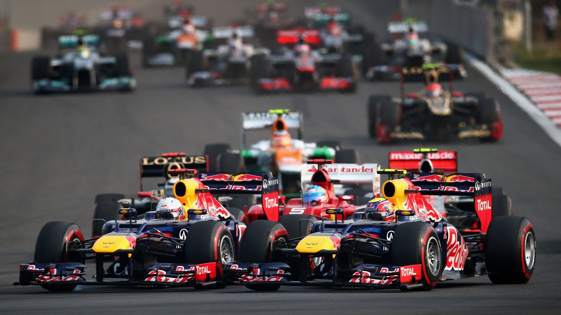 Sebastian Vettel VS Mark Webber …