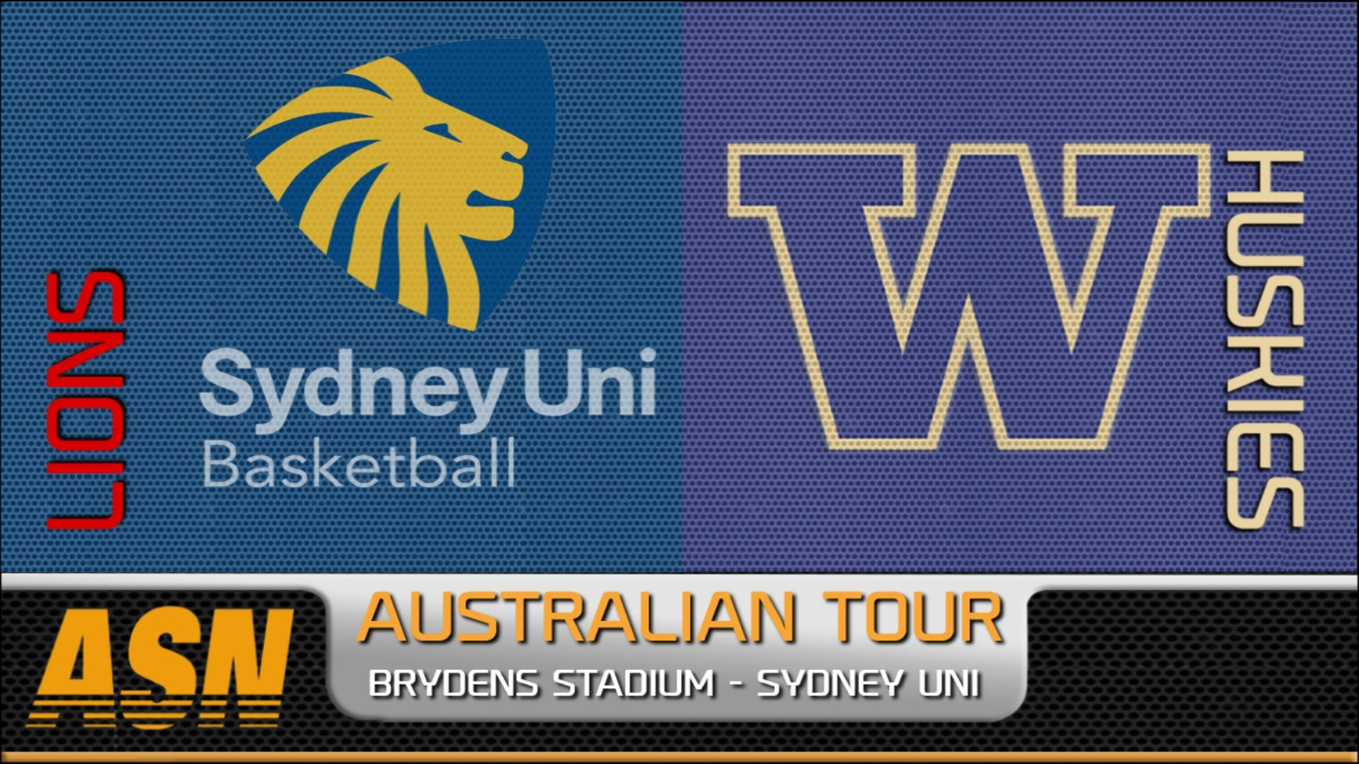 ASN HD: Sydney Uni Lions v University of Washington Huskies – Preshow  Sample – YouTube