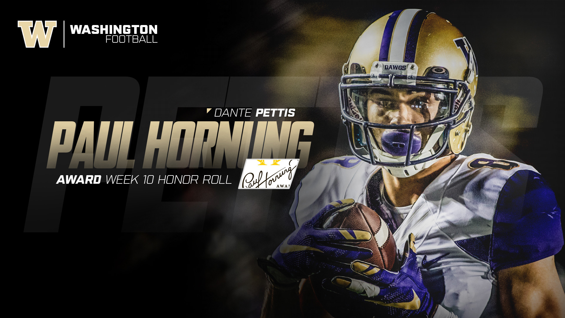 Numerous Weekly Honors Roll In For Huskies