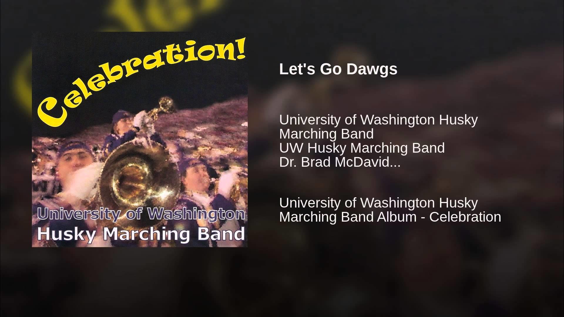 Let's Go Dawgs. University of Washington Husky …