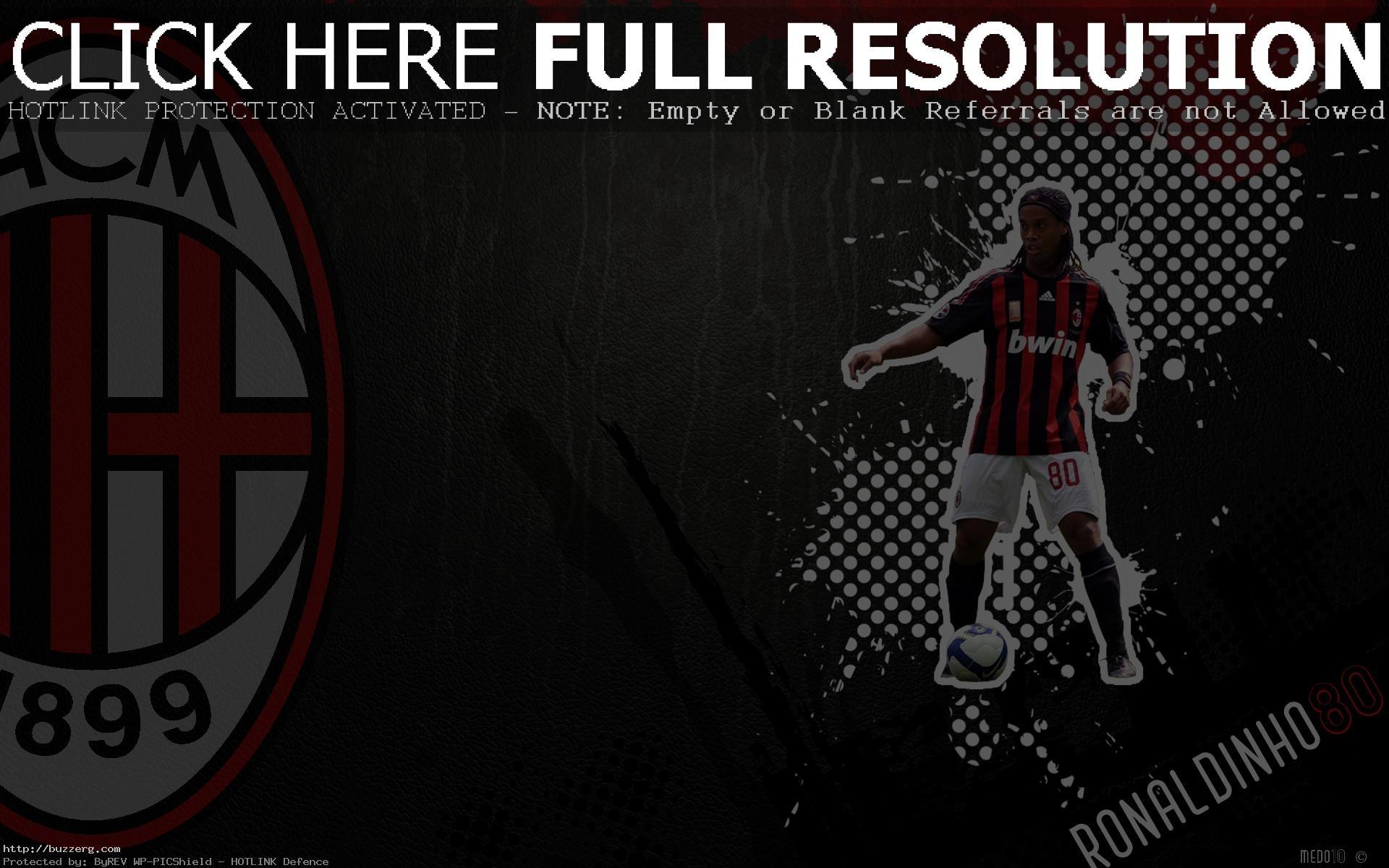 Ronaldinho Ac Milan (id: 26784)