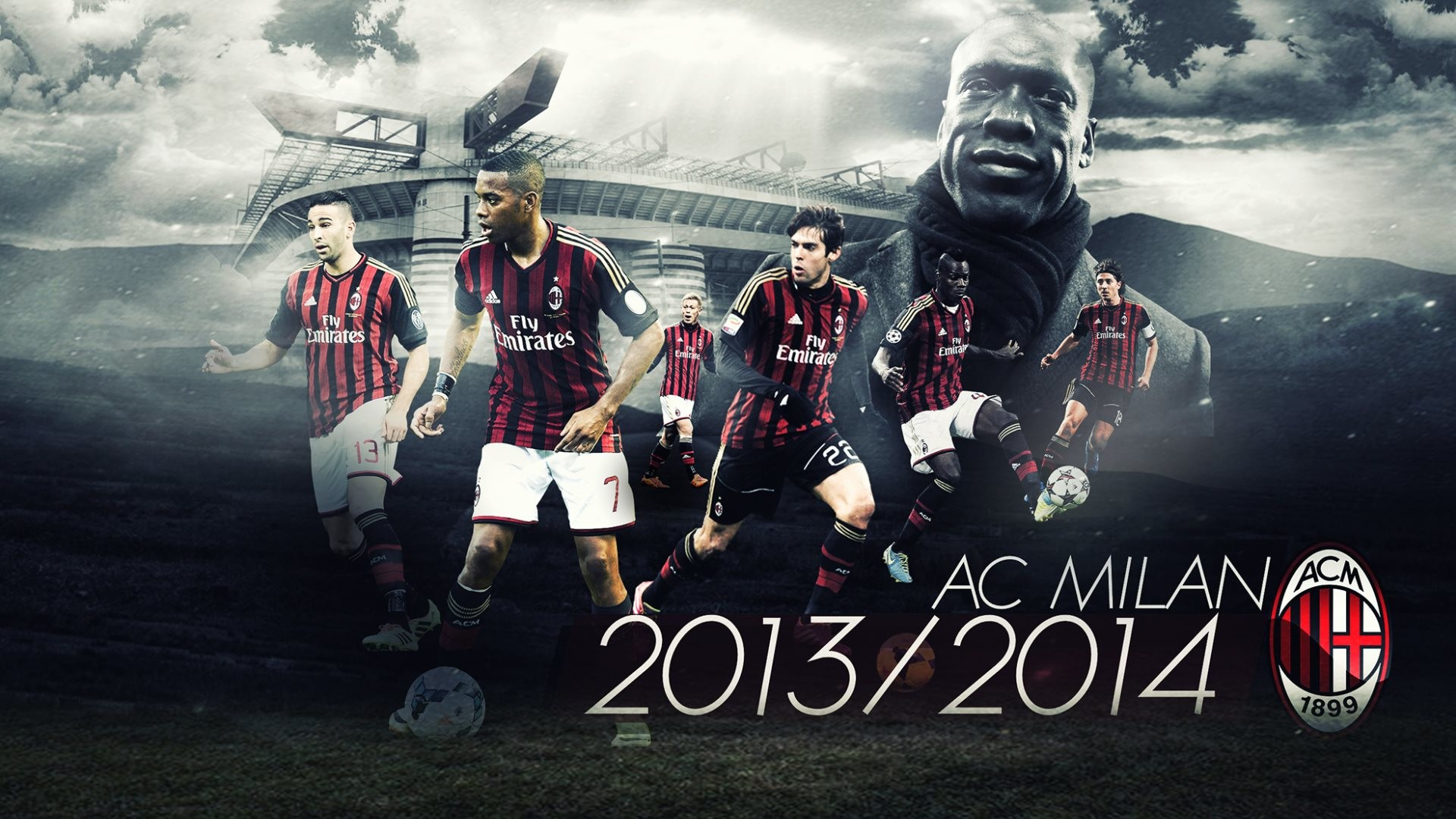 HD AC Milan 2014 4k Pics for Computer