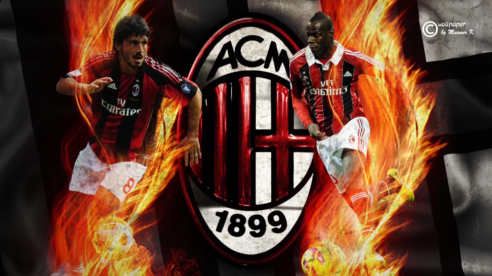 … AC Milan [HD Wallpaper] by muamerART