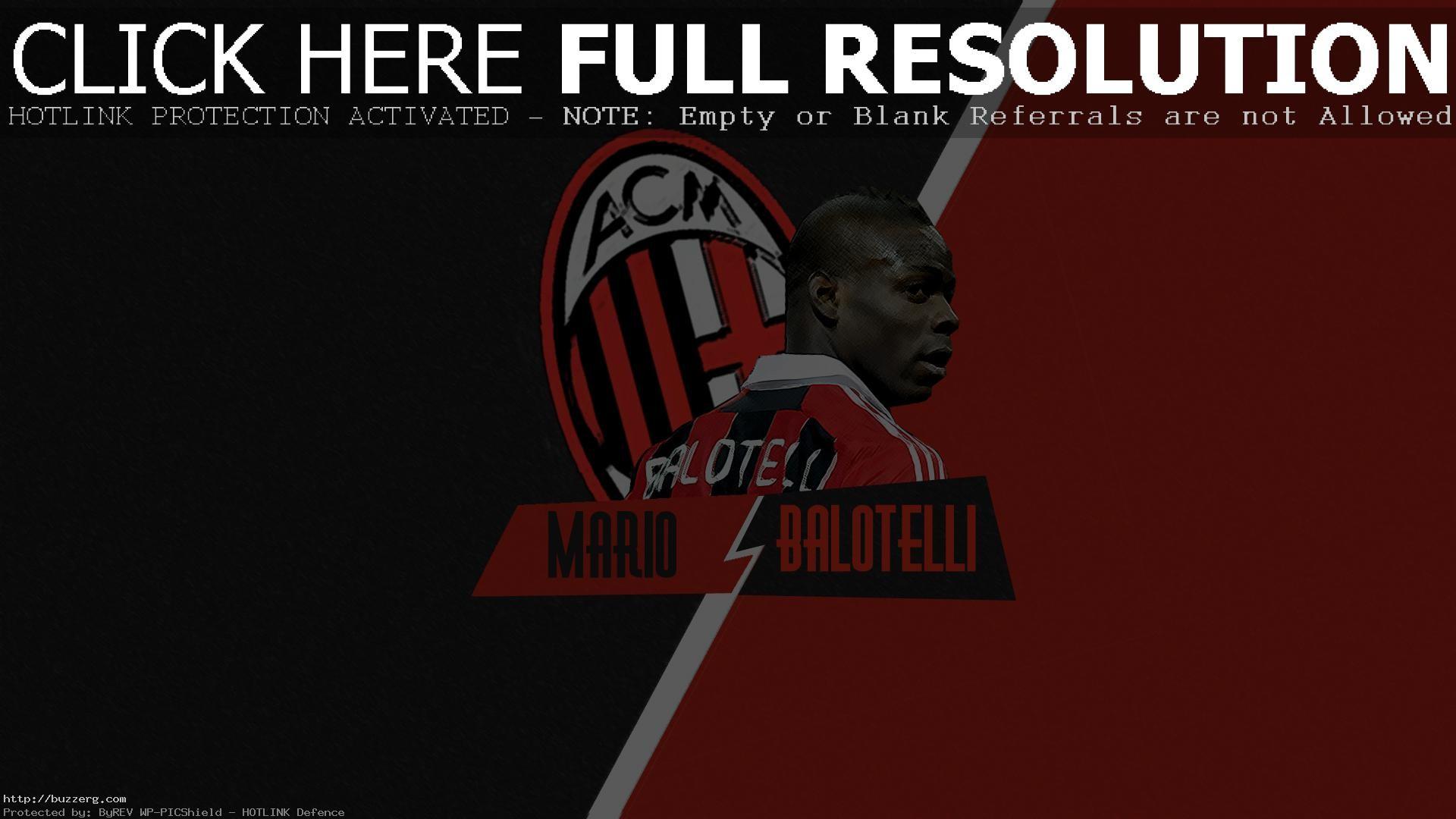 Mario Balotelli Ac Milan (id: 96384)