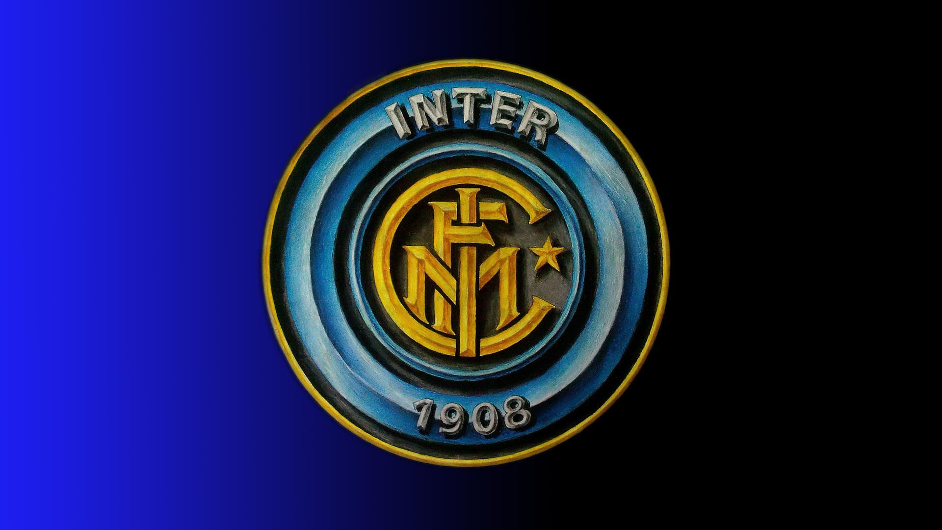 Download this Inter Milan Football Logo Wallpaper picture
