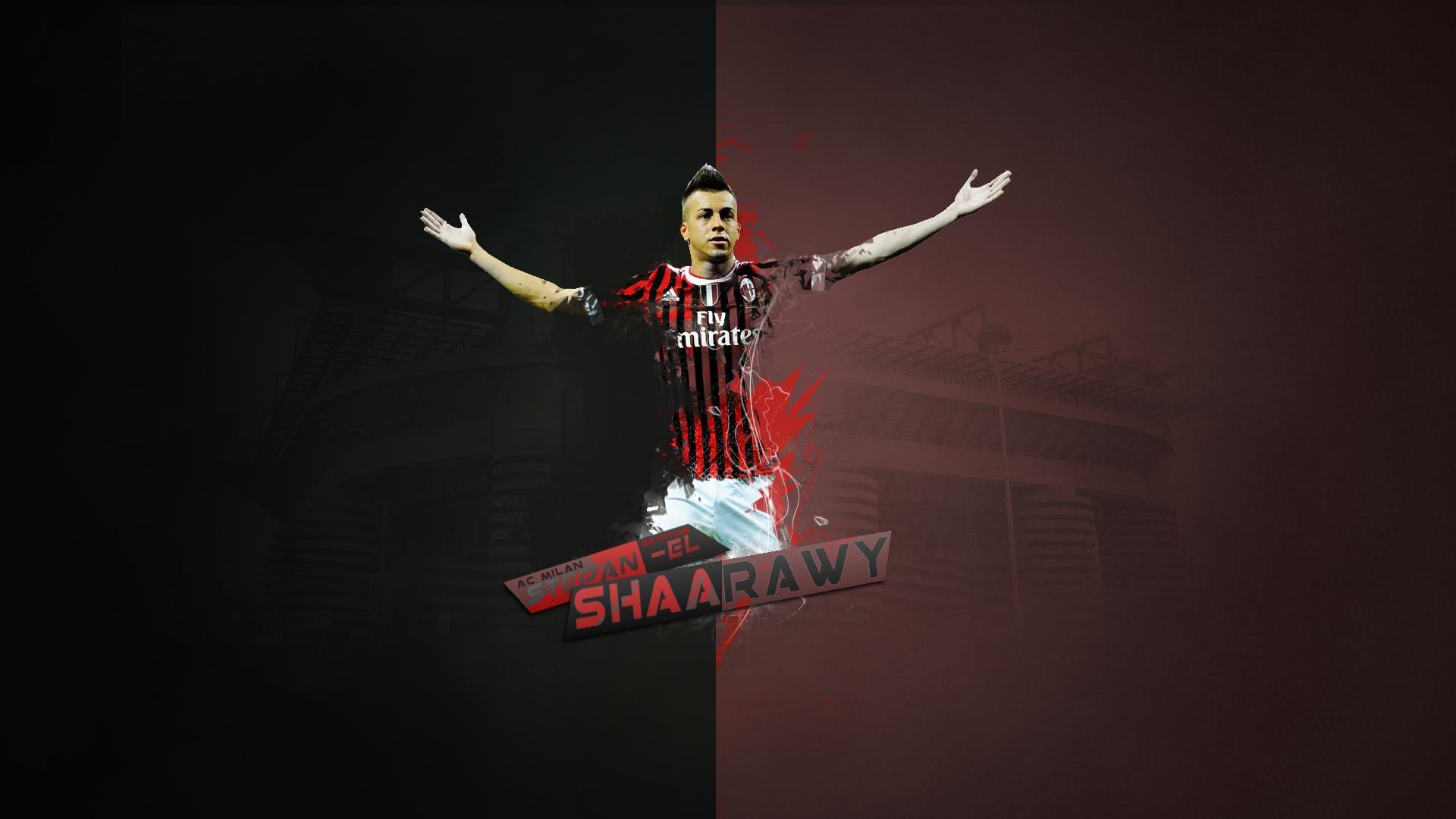 wallpaper.wiki-Ac-Milan-Stephan-El-Shaarawy-Football-