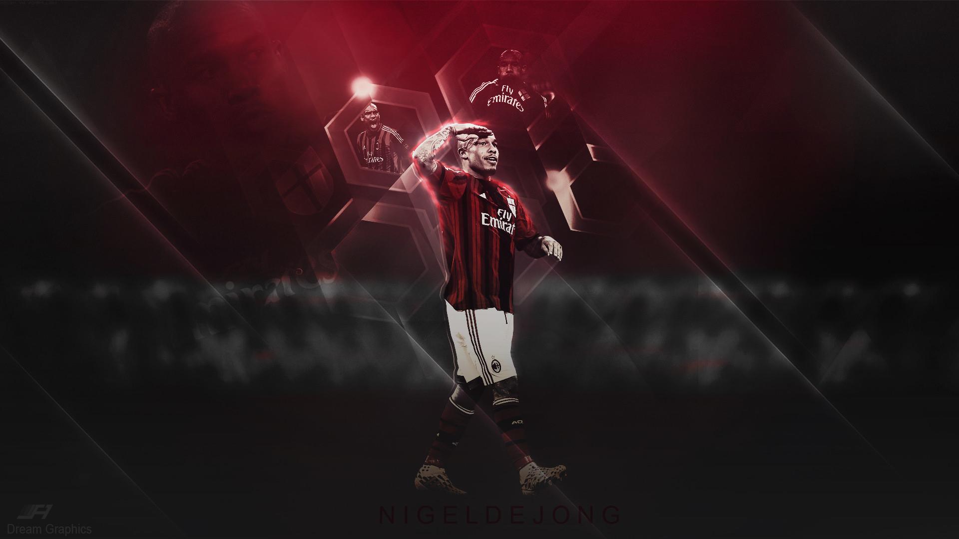 Nigel De Jong AC Milan Wallpaper