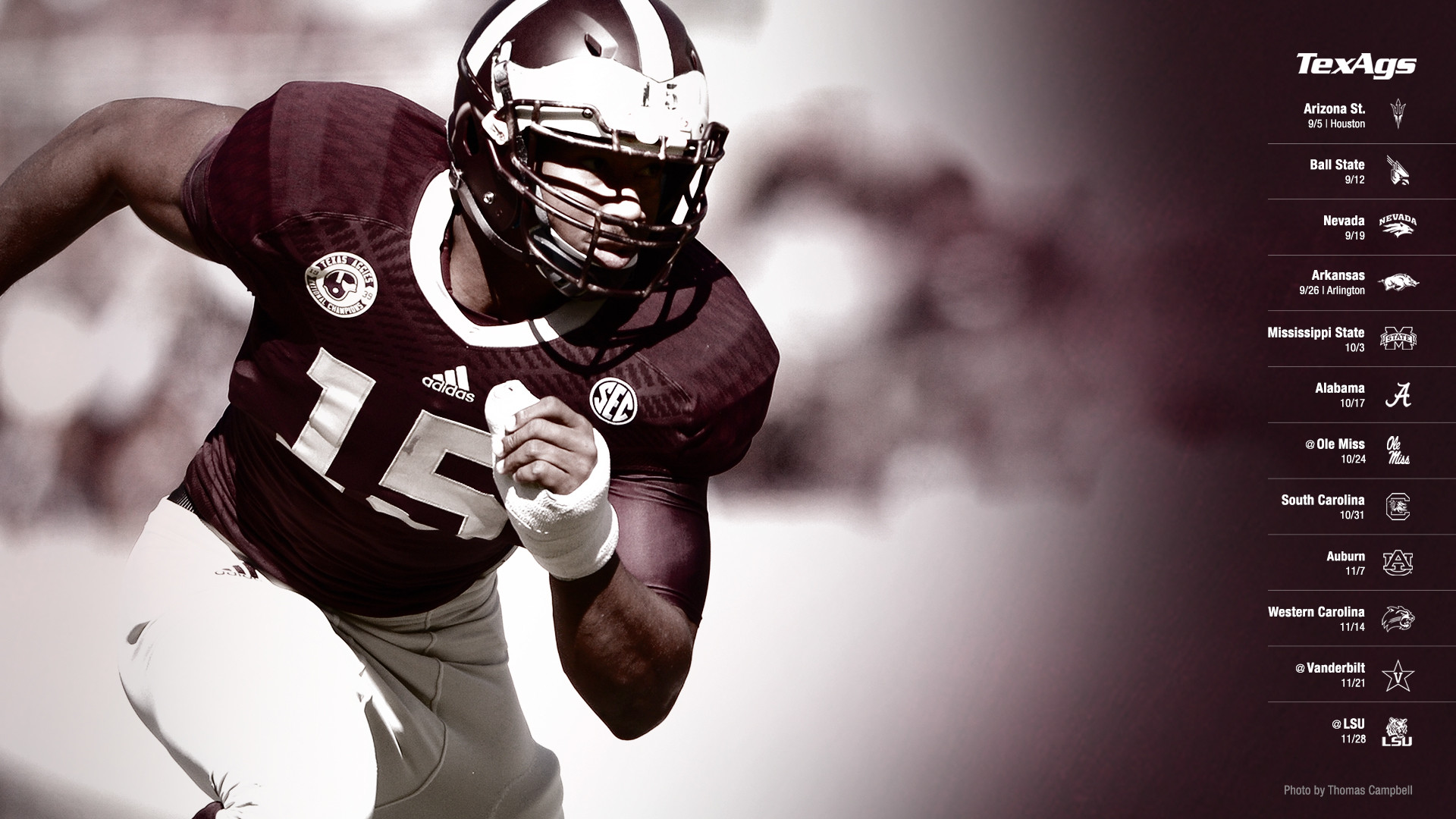 2015 Aggie Football Wallpapers