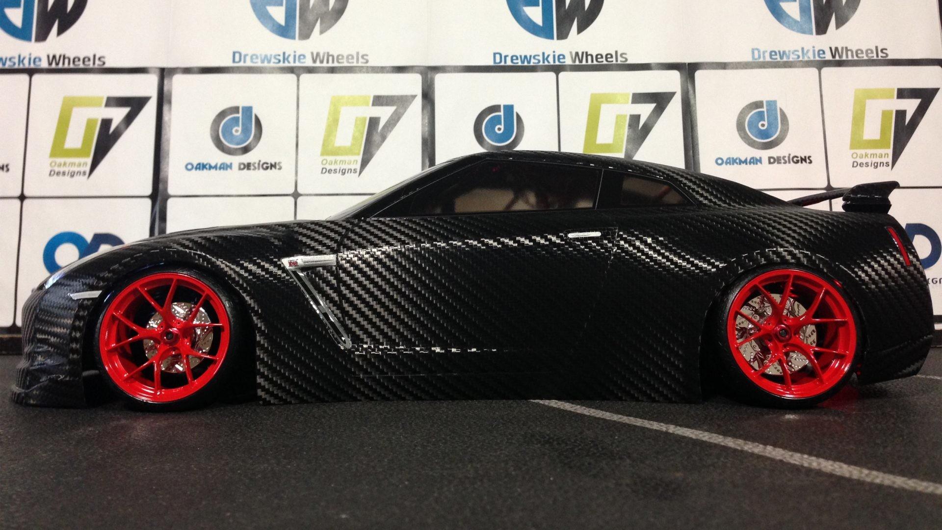 Nissan GT-R in Carbon Fiber Full Body (5 of 23 GTR ) 4k UHD Car Wallpaper