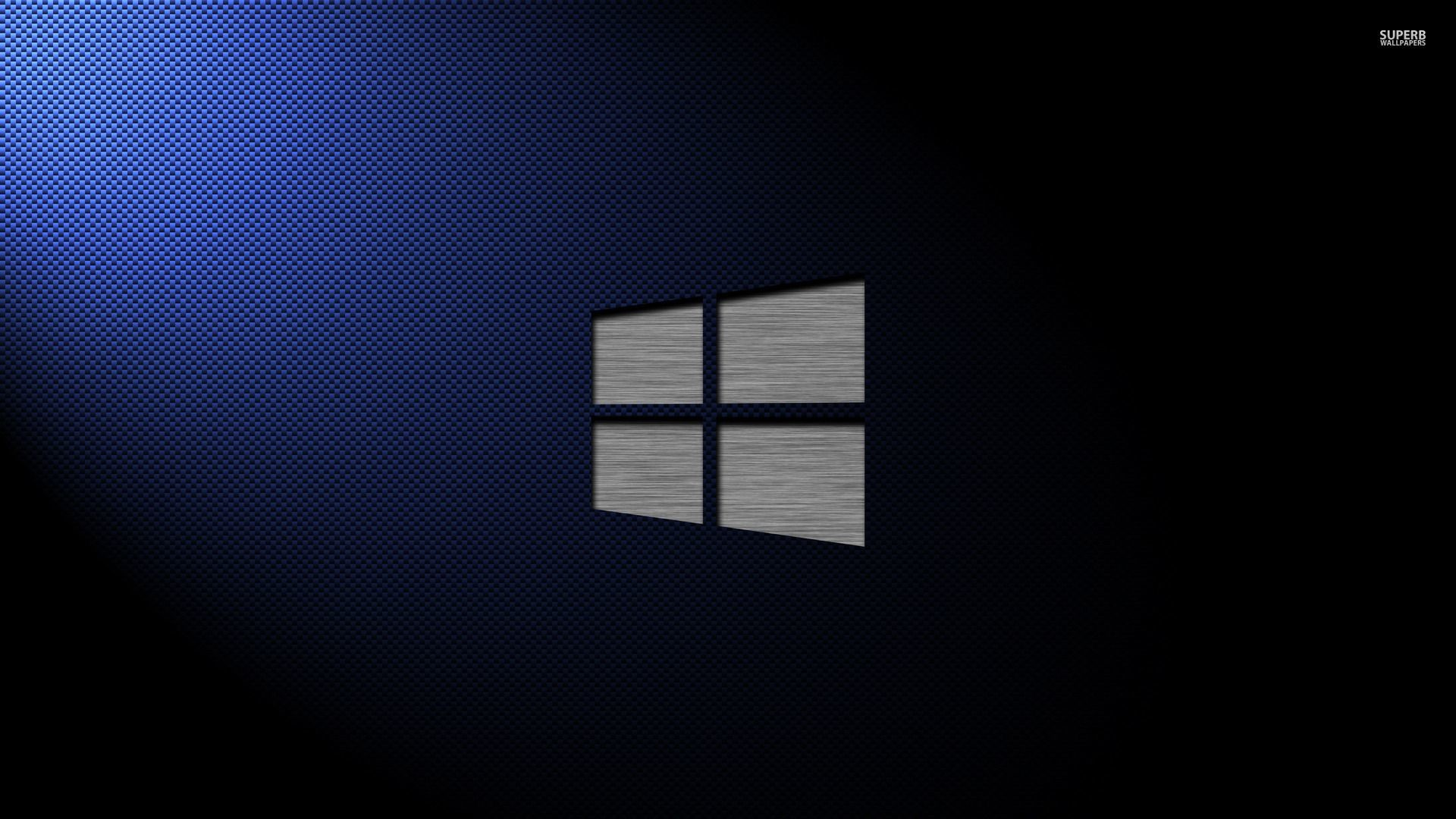 Metal Windows 10 on carbon fiber wallpaper – Computer wallpapers .