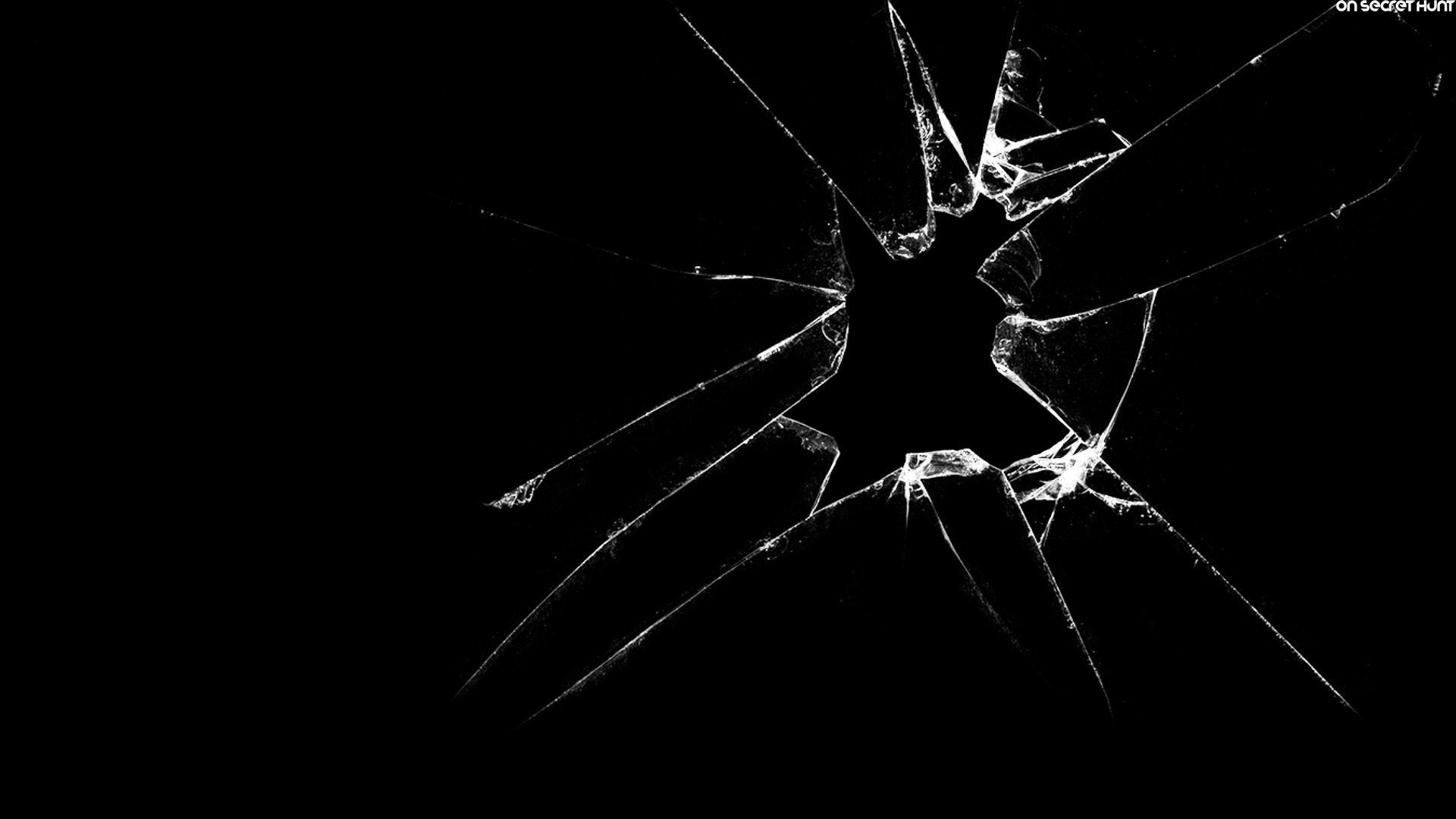 Broken Glass Wallpaper. 1920×1080