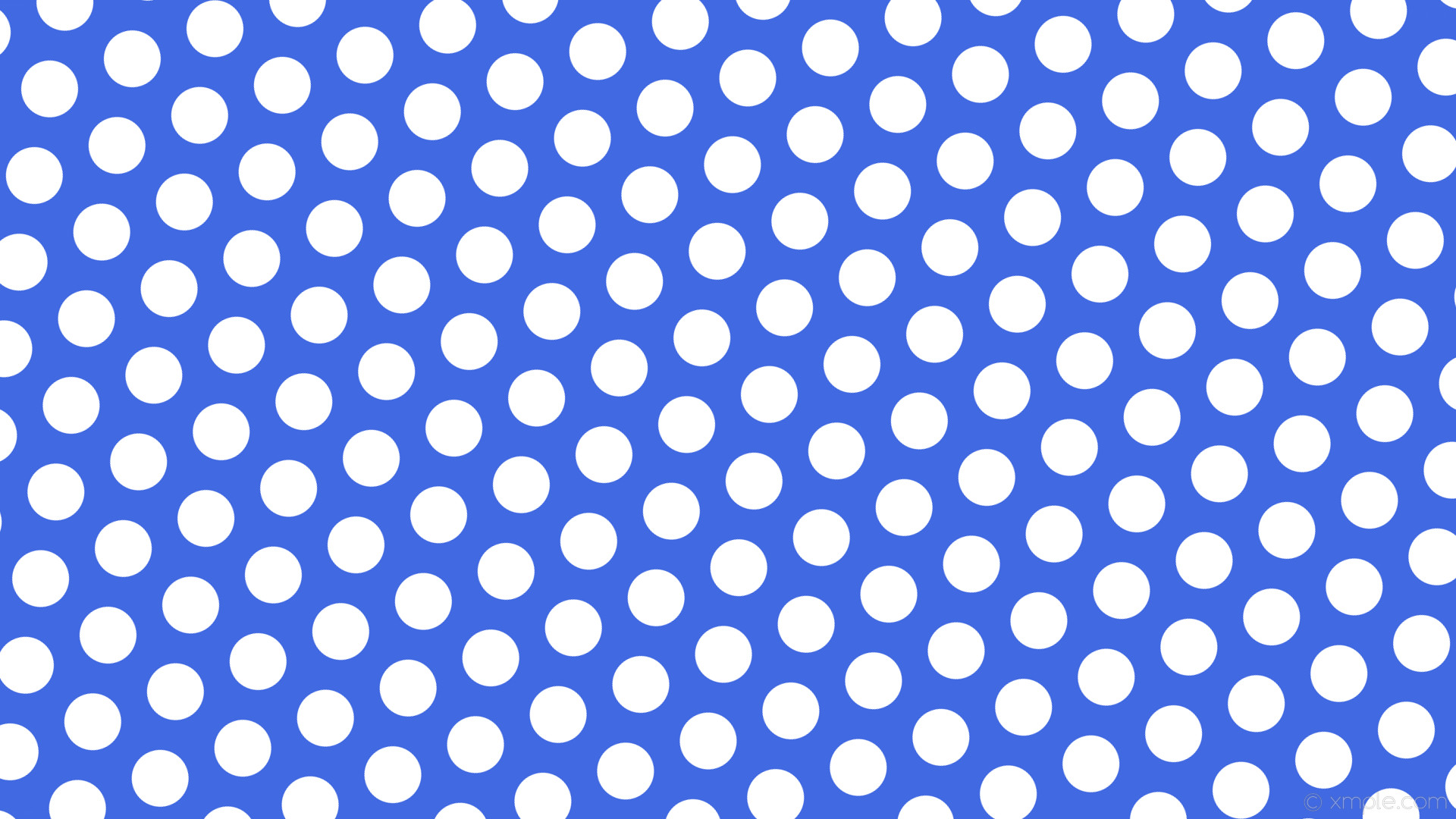 wallpaper blue polka dots hexagon white royal blue #4169e1 #ffffff diagonal  20° 75px