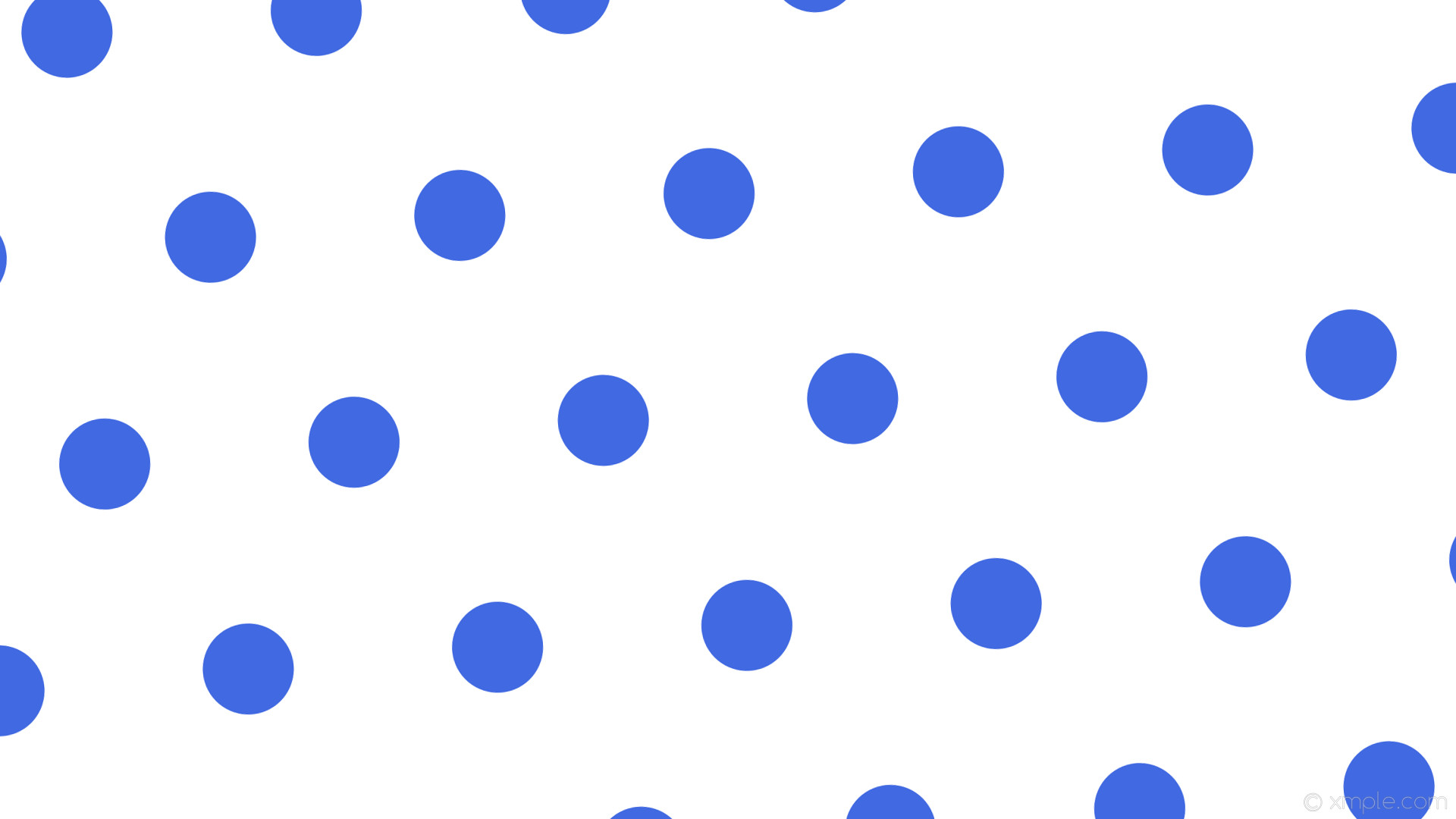 wallpaper white polka dots hexagon blue royal blue #ffffff #4169e1 diagonal  5° 120px