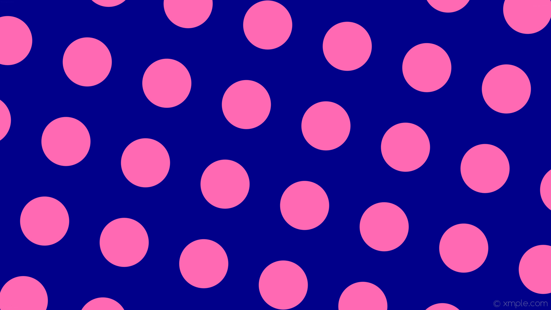 wallpaper spots blue pink polka dots dark blue hot pink #00008b #ff69b4 165°