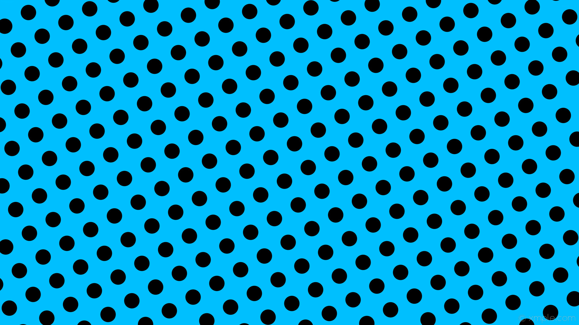 wallpaper black spots blue polka dots deep sky blue #00bfff #000000 30° 51px