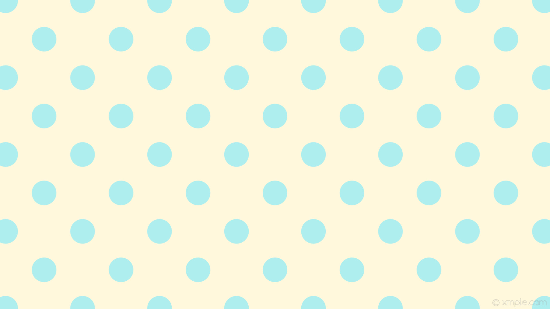wallpaper spots blue brown polka dots cornsilk pale turquoise #fff8dc  #afeeee 315° 86px
